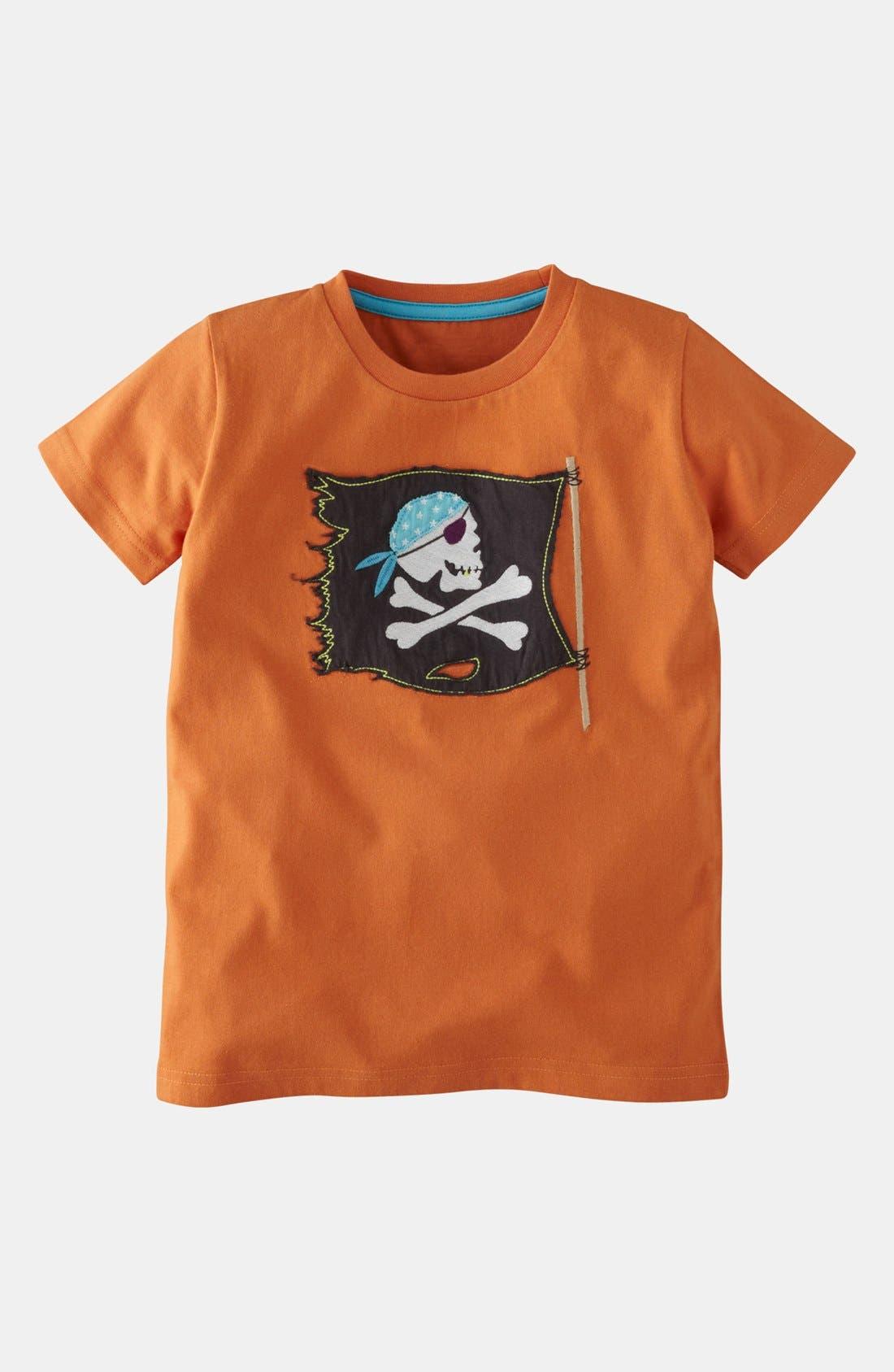 Alternate Image 1 Selected - Mini Boden T-Shirt & Shorts (Toddler, Little Boys & Big Boys)
