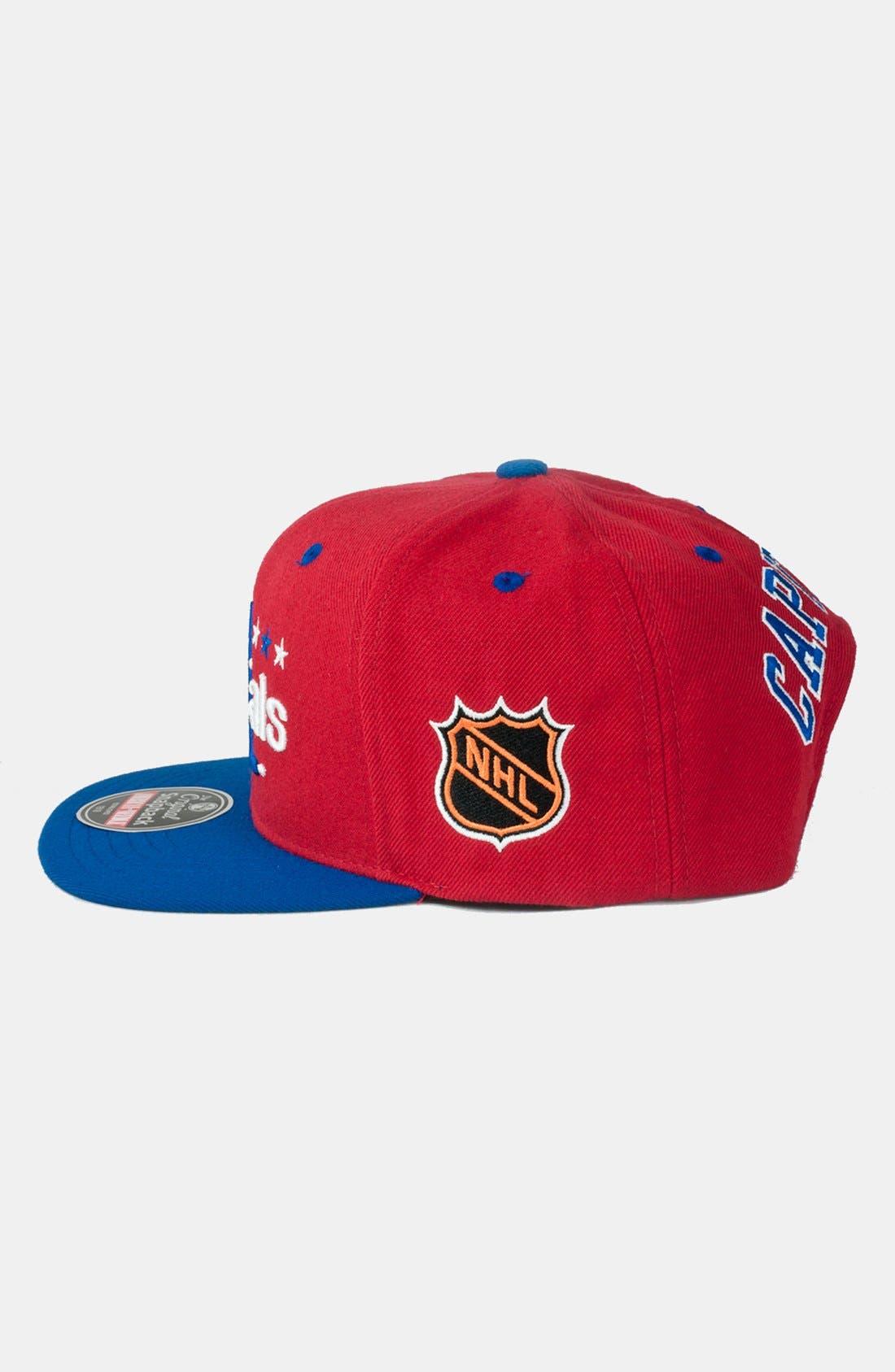 Alternate Image 3  - American Needle 'Washinton Capitals - Blockhead' Snapback Hockey Cap
