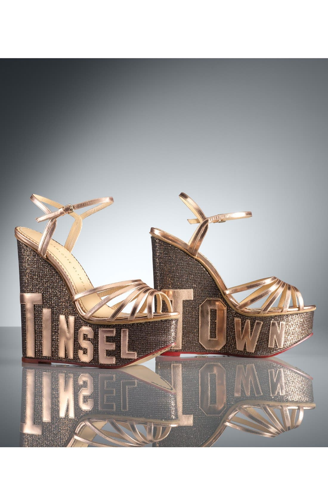 Alternate Image 5  - Charlotte Olympia 'Tinseltown' Sandal