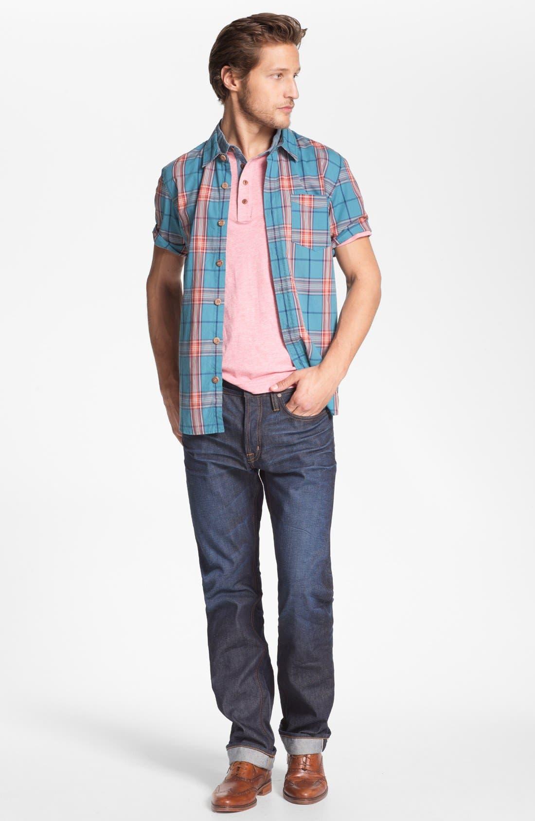 Alternate Image 4  - Jack O'Neill 'Wellness' Short Sleeve Sport Shirt