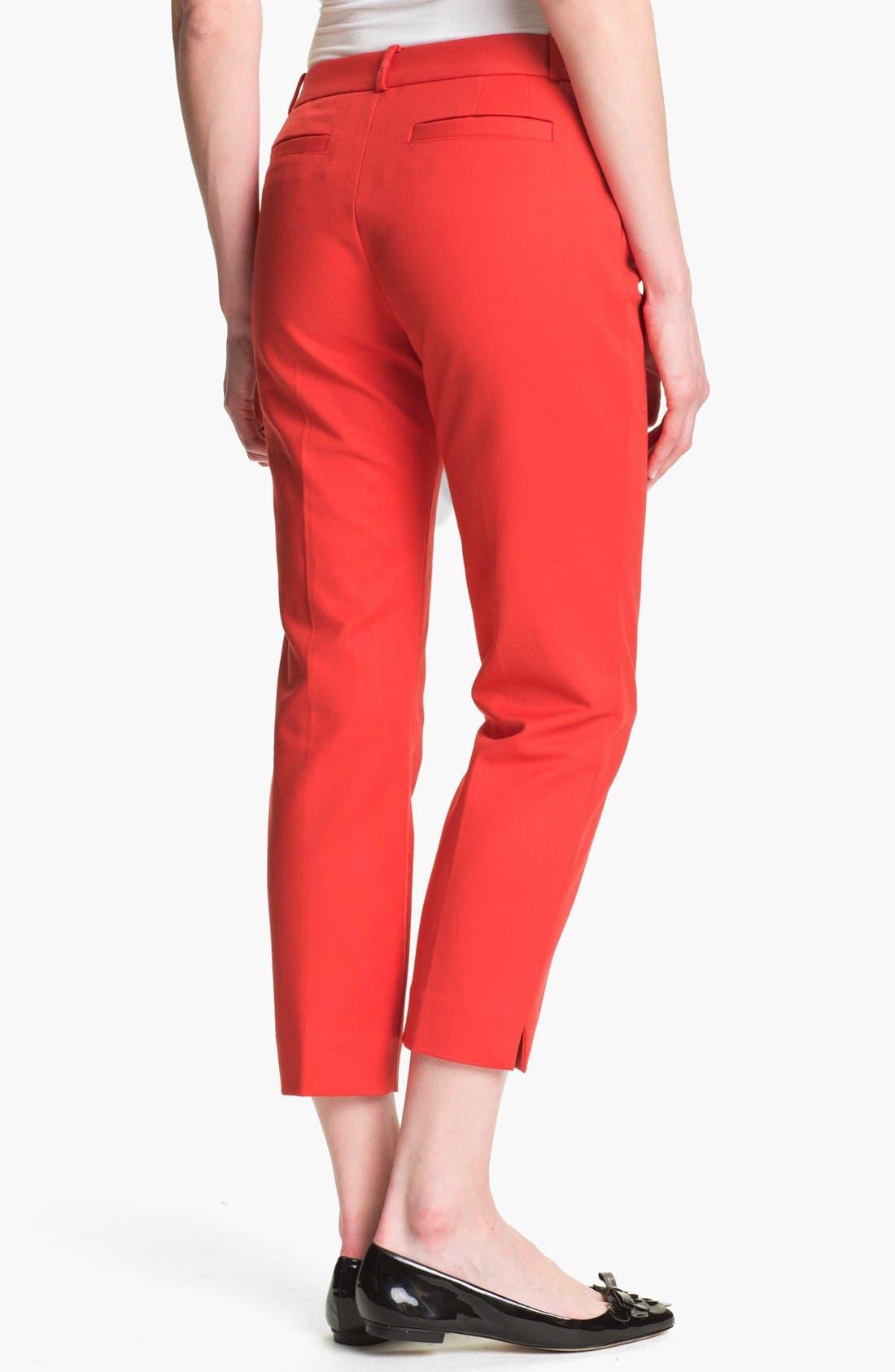 Alternate Image 2  - kate spade new york 'davis' capri pants