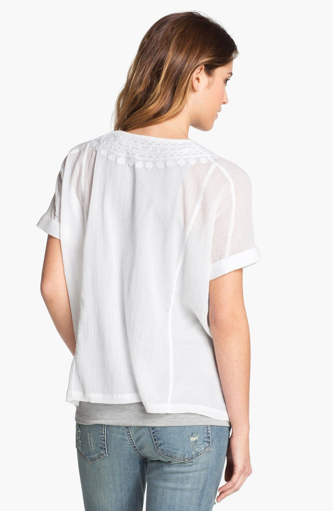 Alternate Image 2  - Lucky Brand 'Ambrosio' Blouse