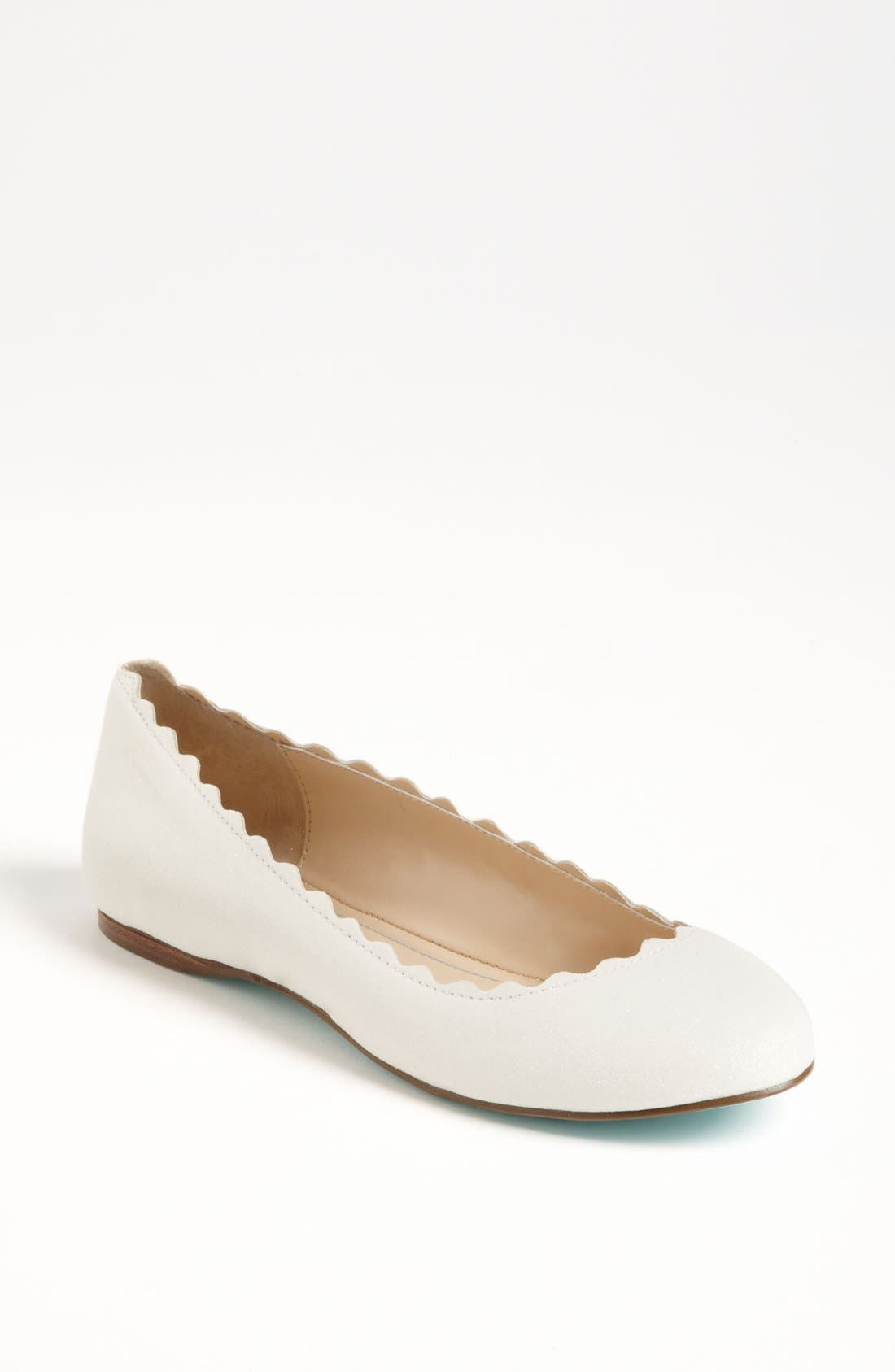 Alternate Image 1 Selected - Blue by Betsey Johnson 'Dance' Flat