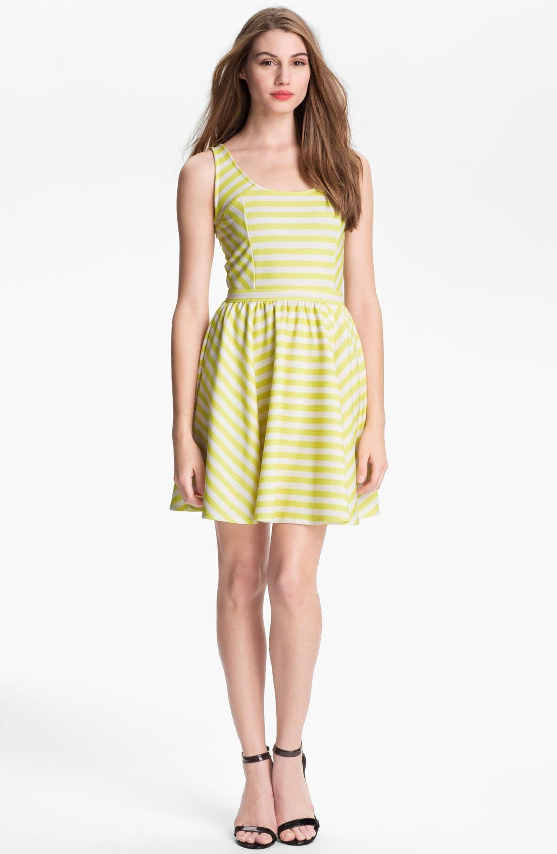 Main Image - Jessica Simpson 'Sharon' Stripe Dress