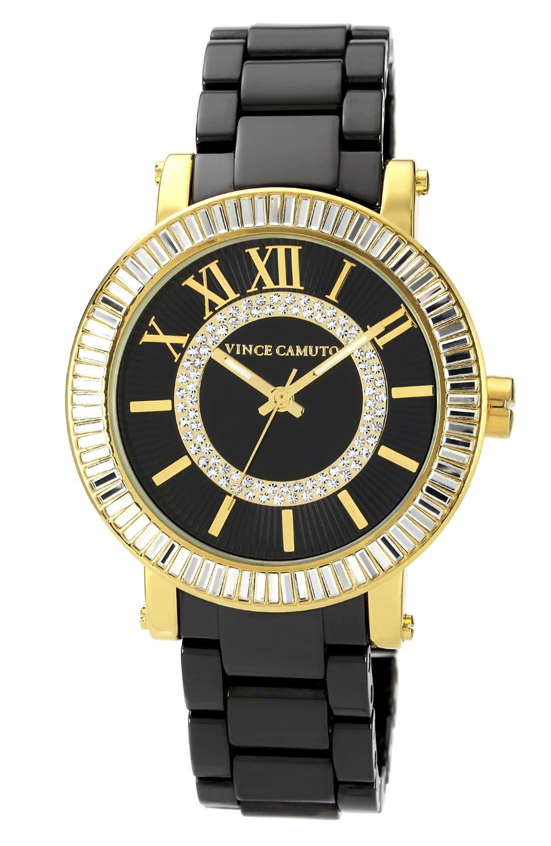 Main Image - Vince Camuto Ceramic Bracelet Watch, 40mm