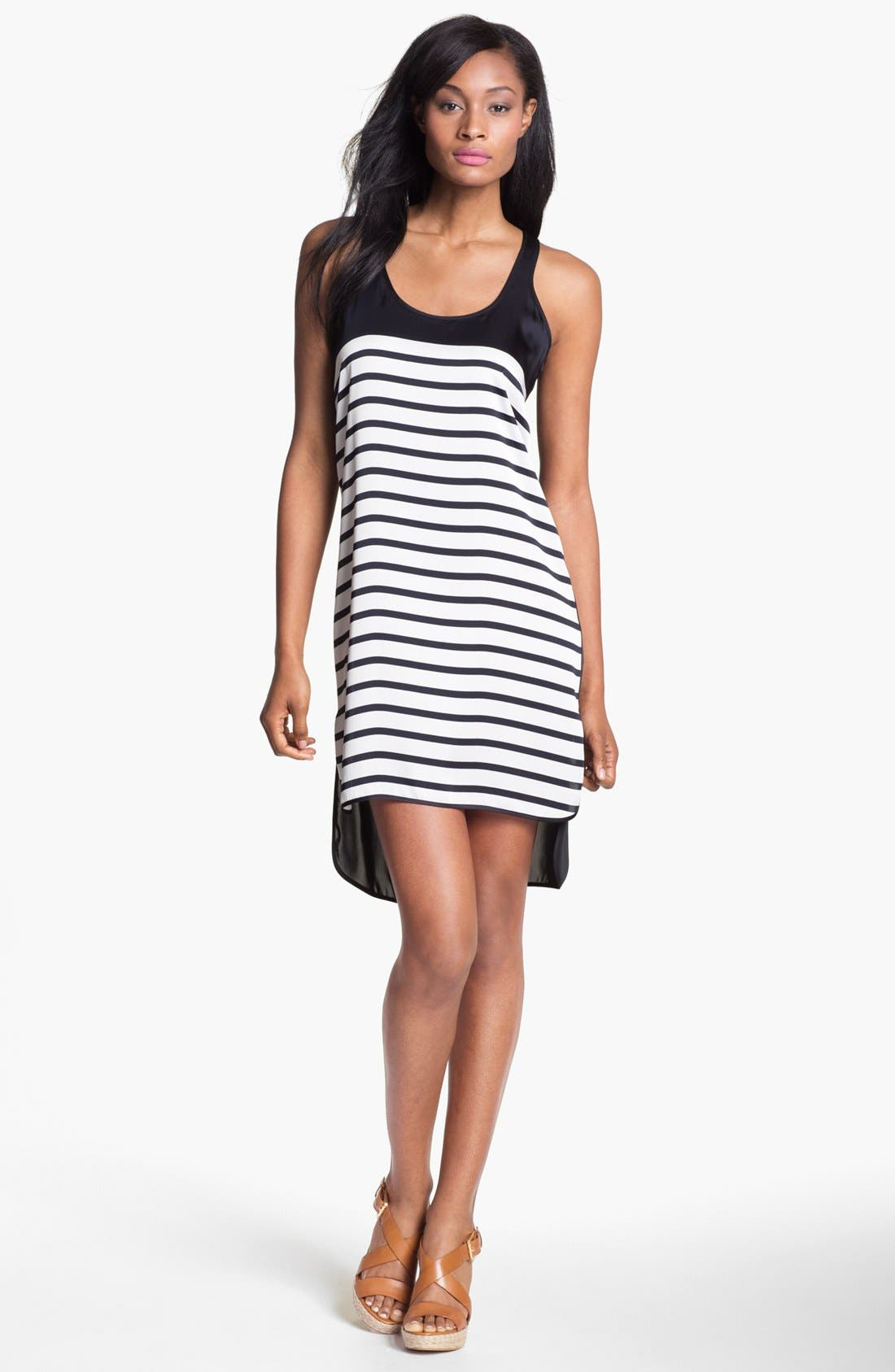 Main Image - MICHAEL Michael Kors Breton Stripe Tank Dress
