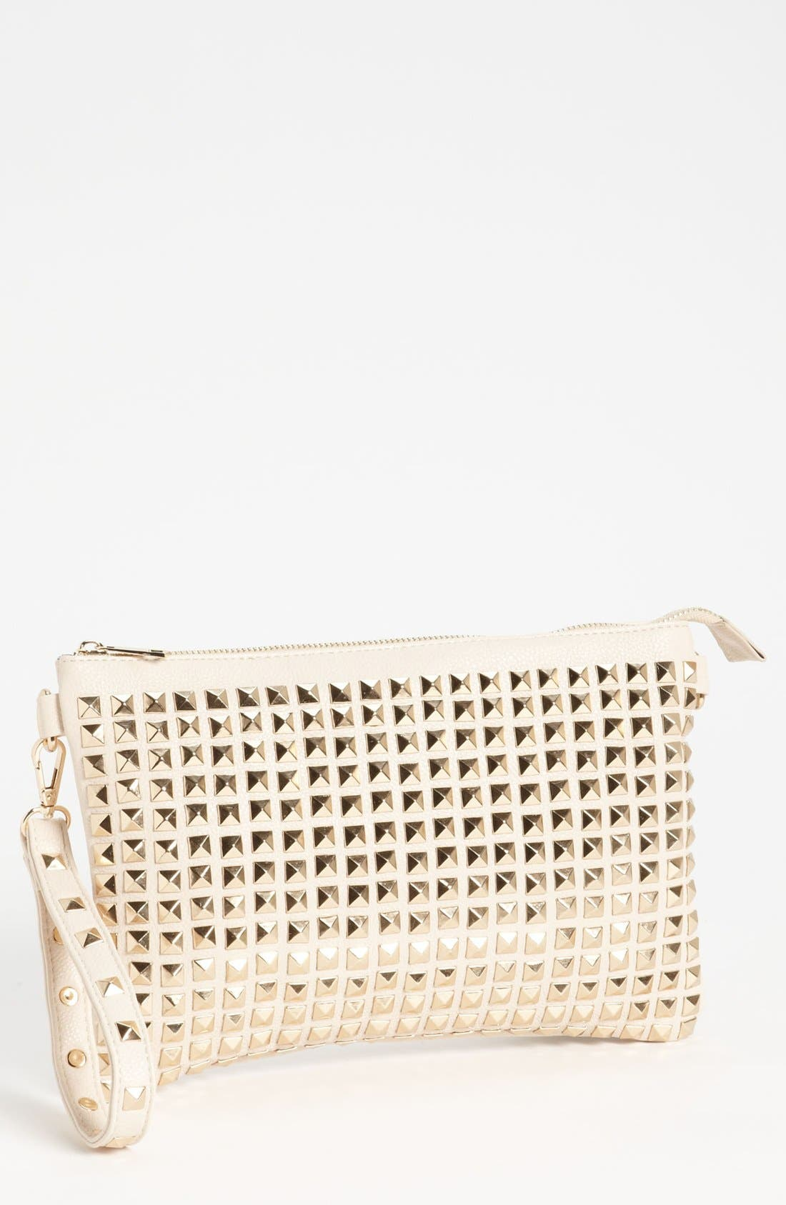 Alternate Image 1 Selected - De L'avion Studded Crossbody Clutch