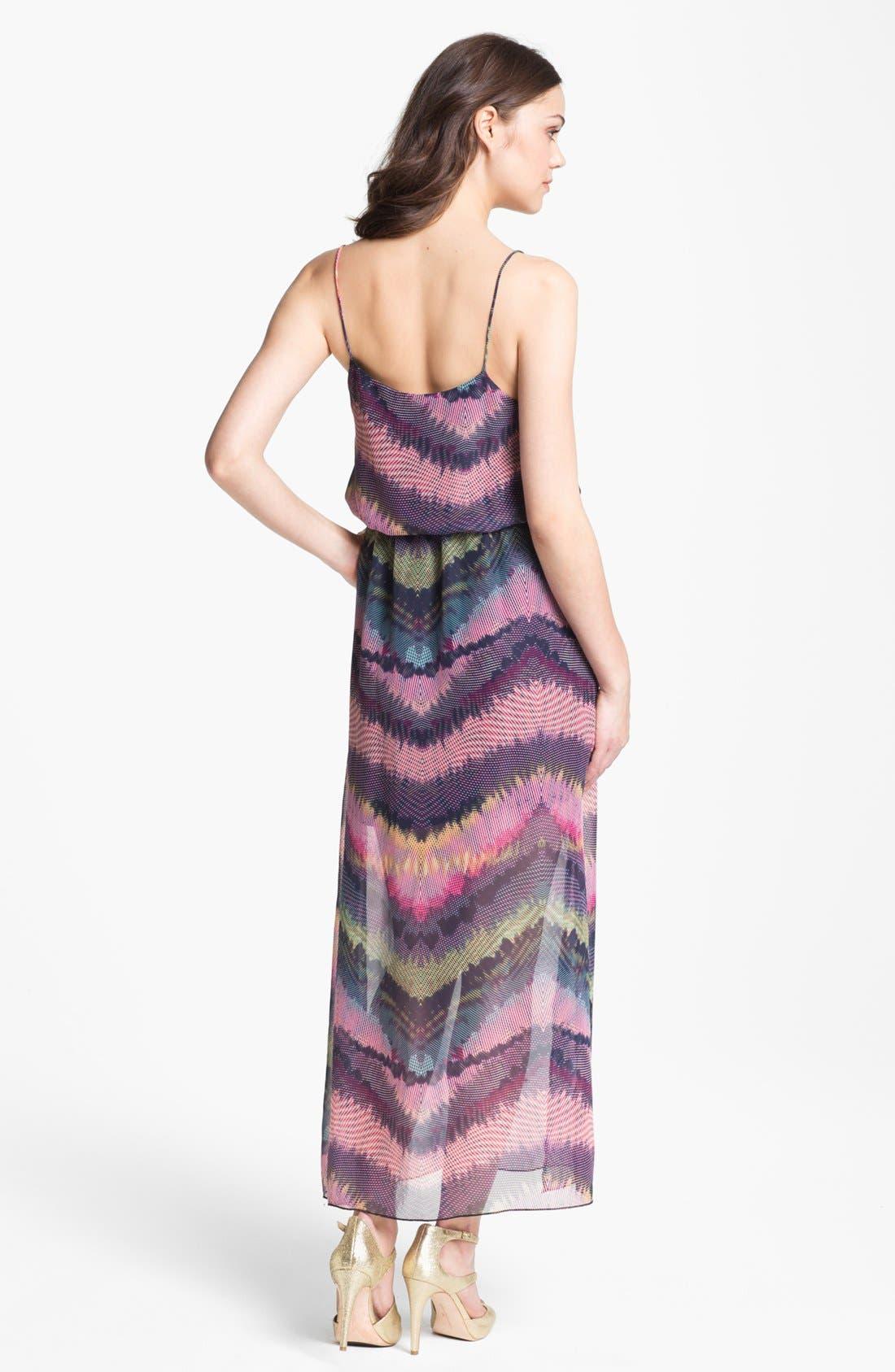 Alternate Image 2  - Olive & Oak Print Maxi Dress