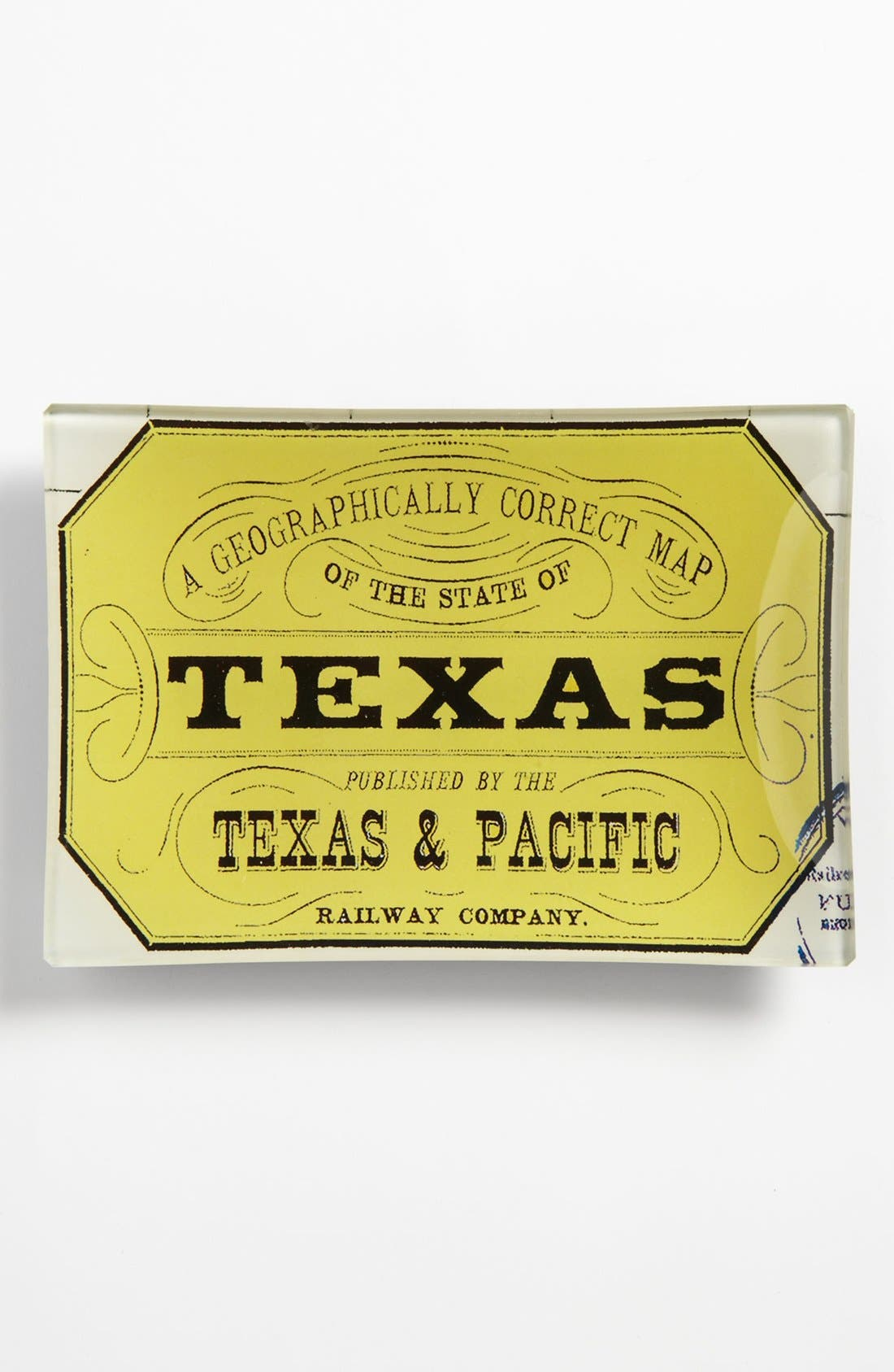Alternate Image 1 Selected - Ben's Garden 'Texas Stamp' Trinket Tray