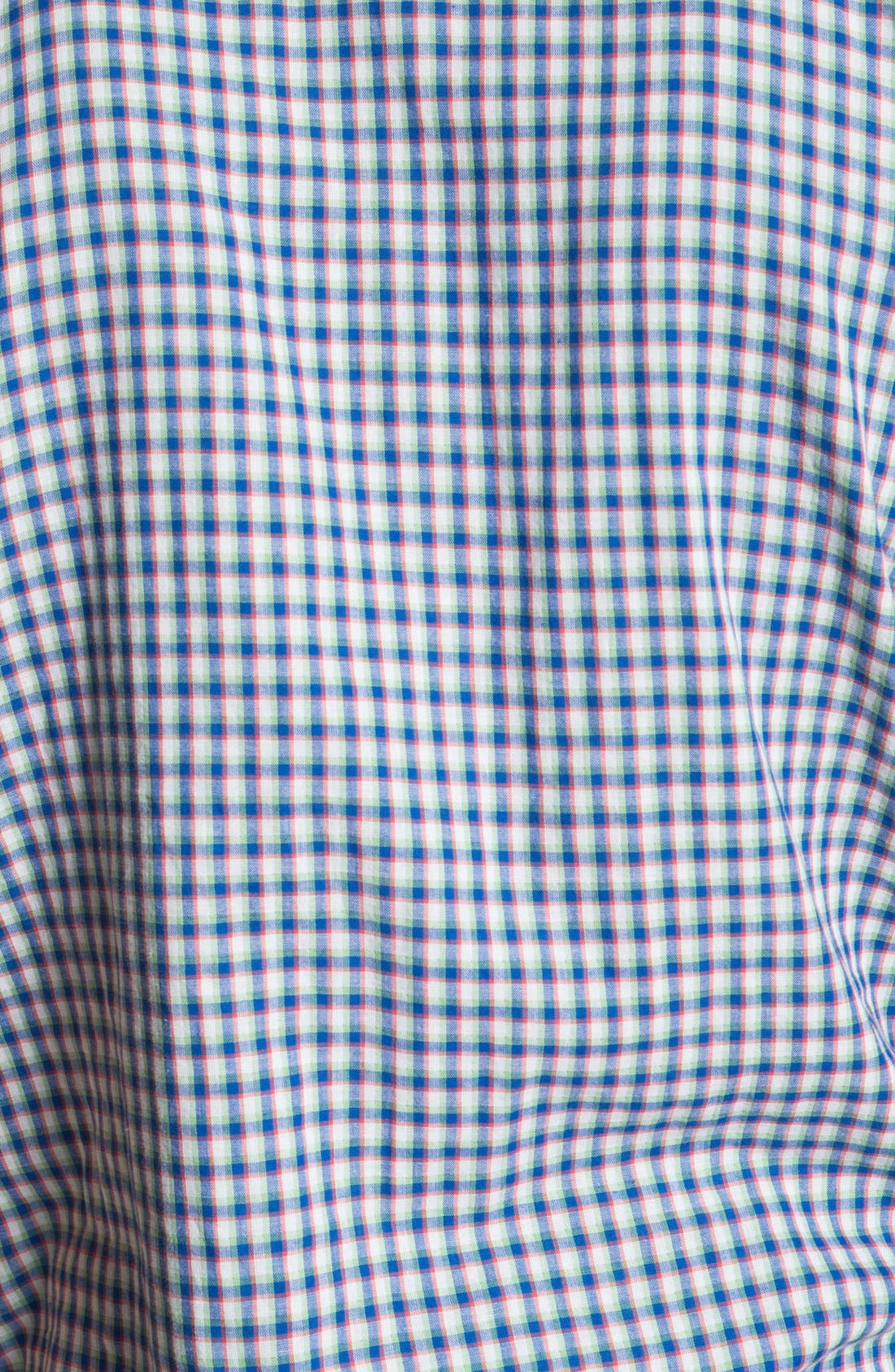 Alternate Image 2  - Volcom 'Lanford' Short Sleeve Check Woven Shirt