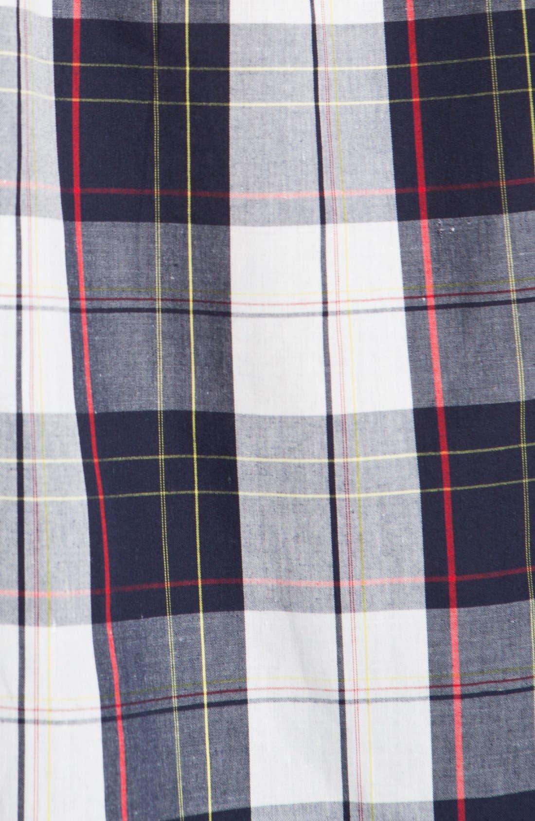 Alternate Image 2  - Brixton 'Lisbon' Short Sleeve Plaid Shirt