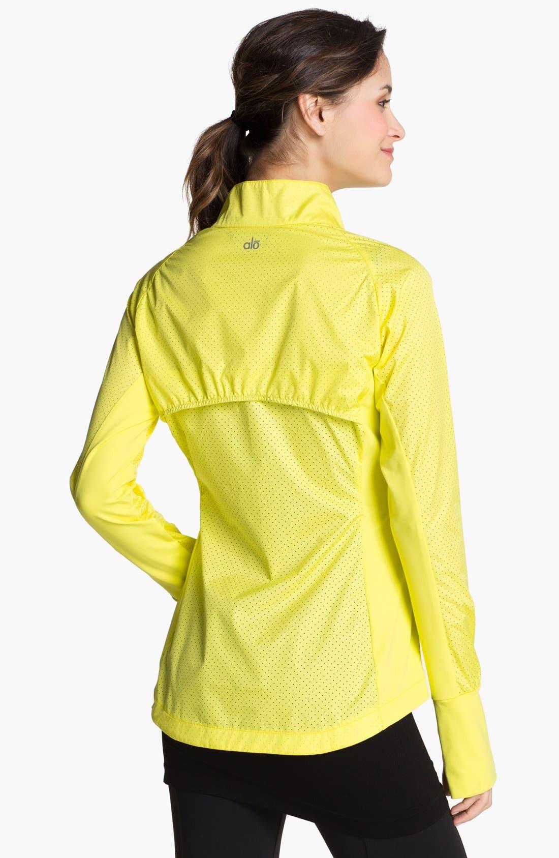 Alternate Image 2  - Alo 'Precision' Taffeta Running Jacket