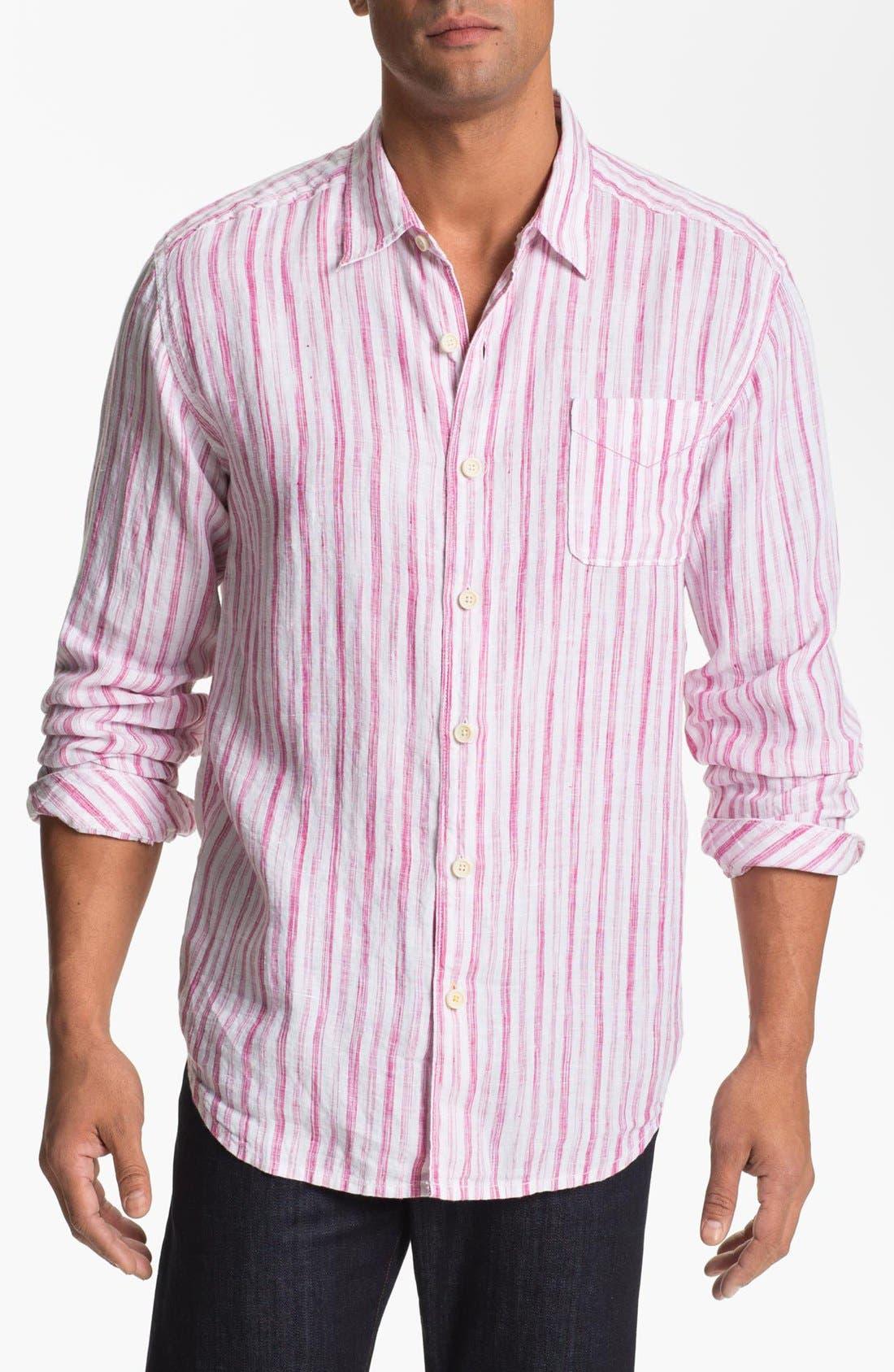 Main Image - Tommy Bahama 'Academy' Regular Fit Sport Shirt (Big & Tall)