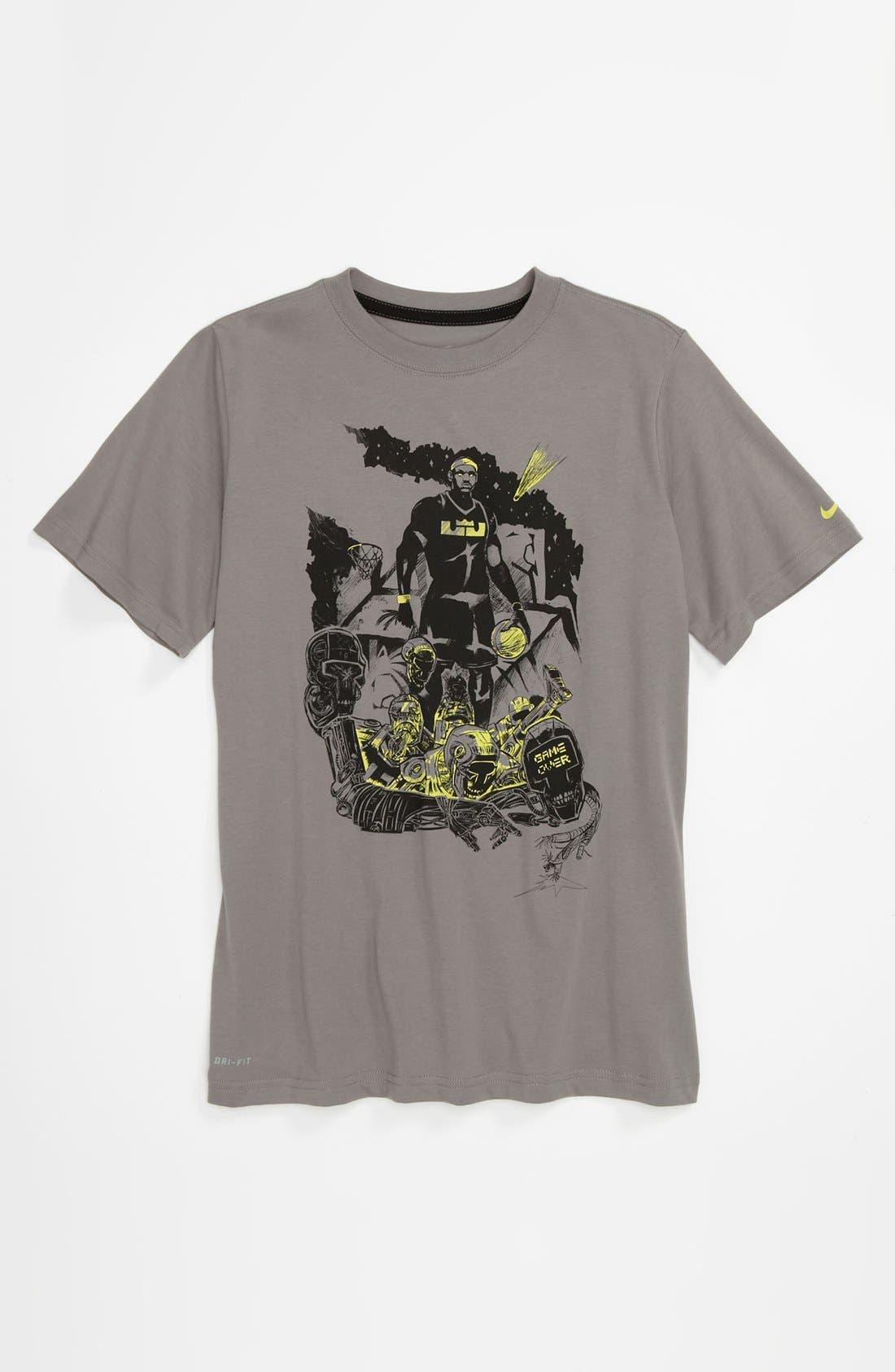 Alternate Image 1 Selected - Nike 'LeBron Hero' Dri-FIT T-Shirt (Big Boys)