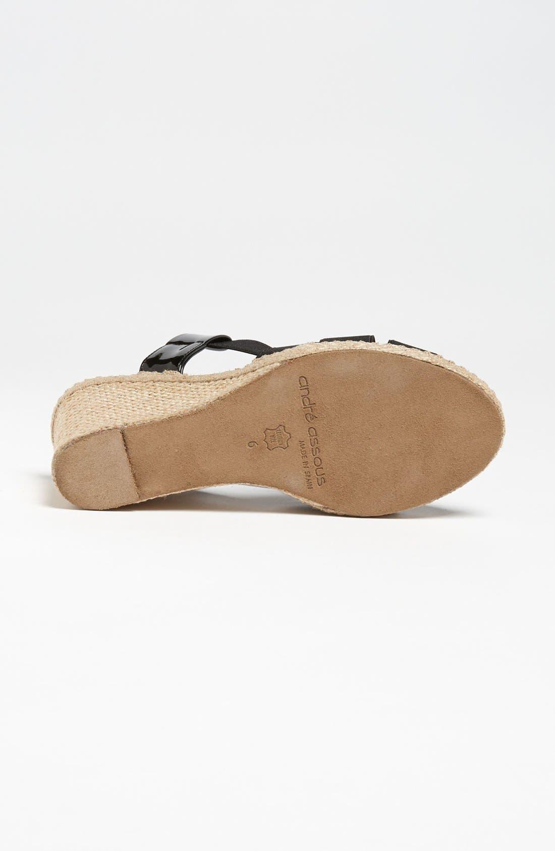 Alternate Image 4  - André Assous 'Josie' Sandal