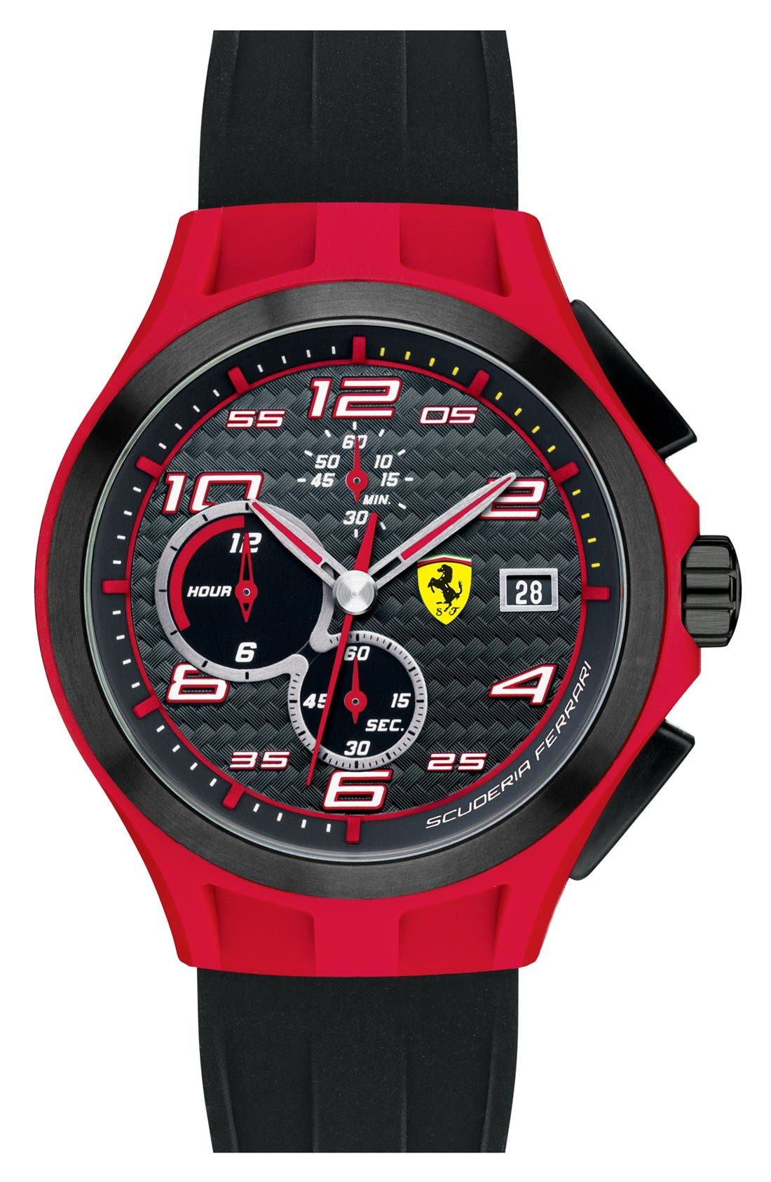 Alternate Image 1 Selected - Scuderia Ferrari 'Lap Time' Chronograph Watch, 44mm