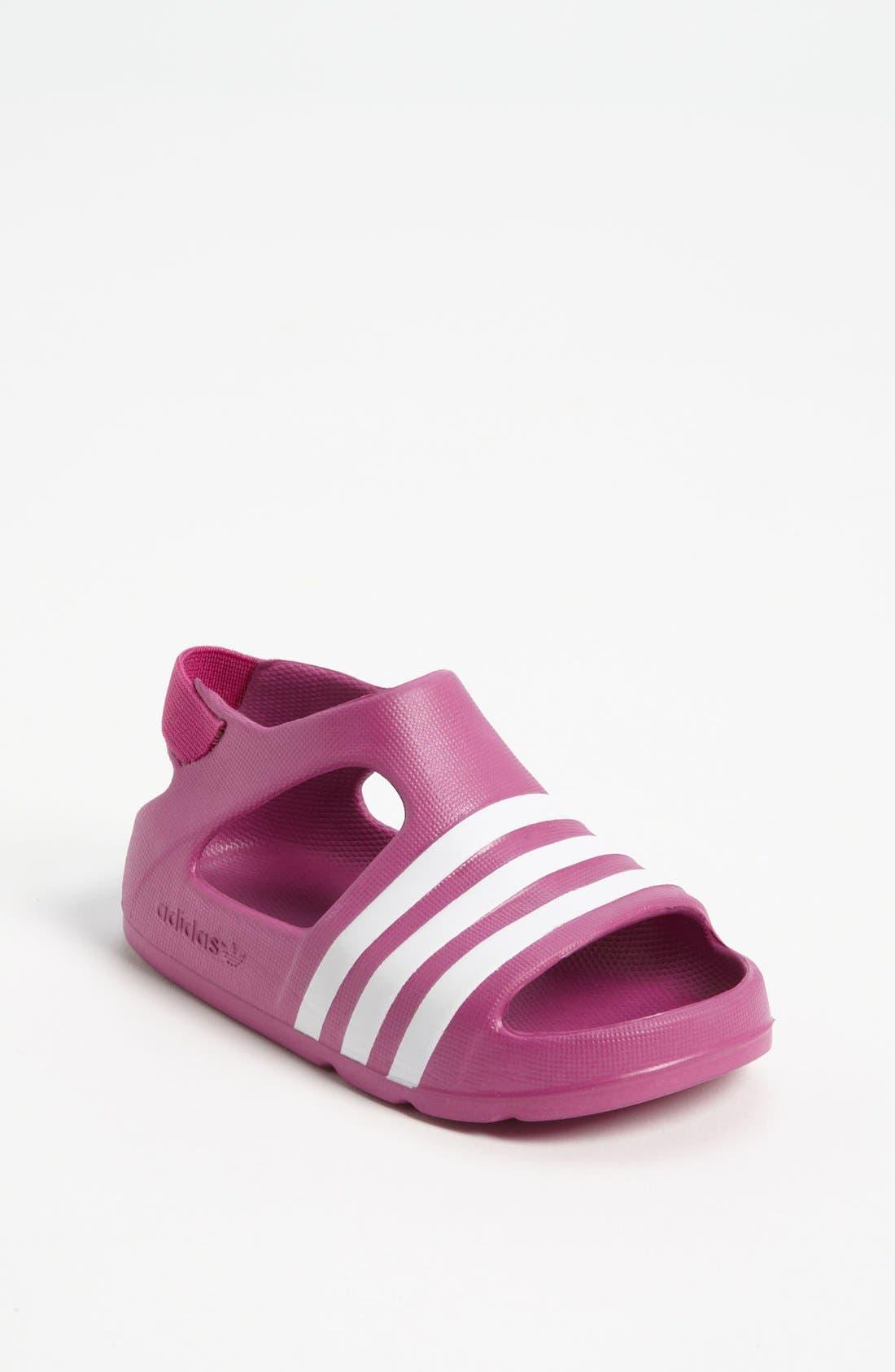 Alternate Image 1 Selected - adidas 'Adilette' Sandal (Baby, Walker & Toddler)
