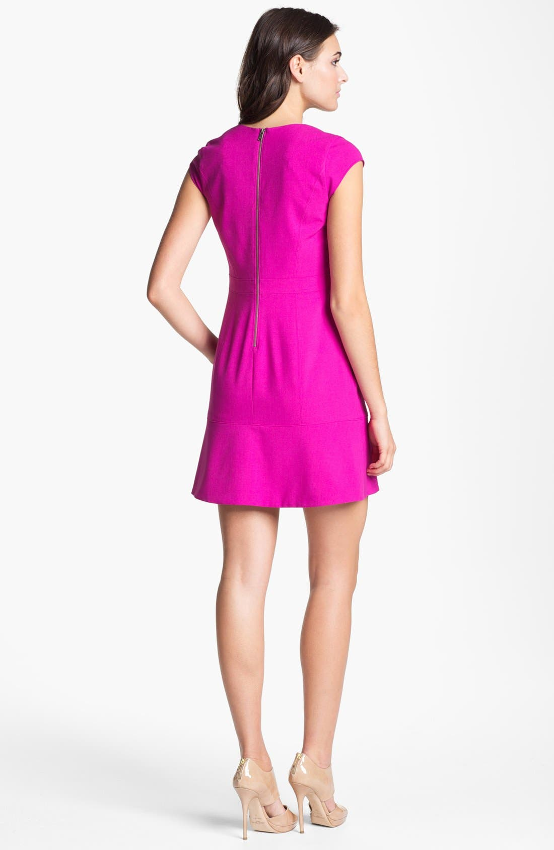 Alternate Image 2  - Marc New York by Andrew Marc Cap Sleeve Dress