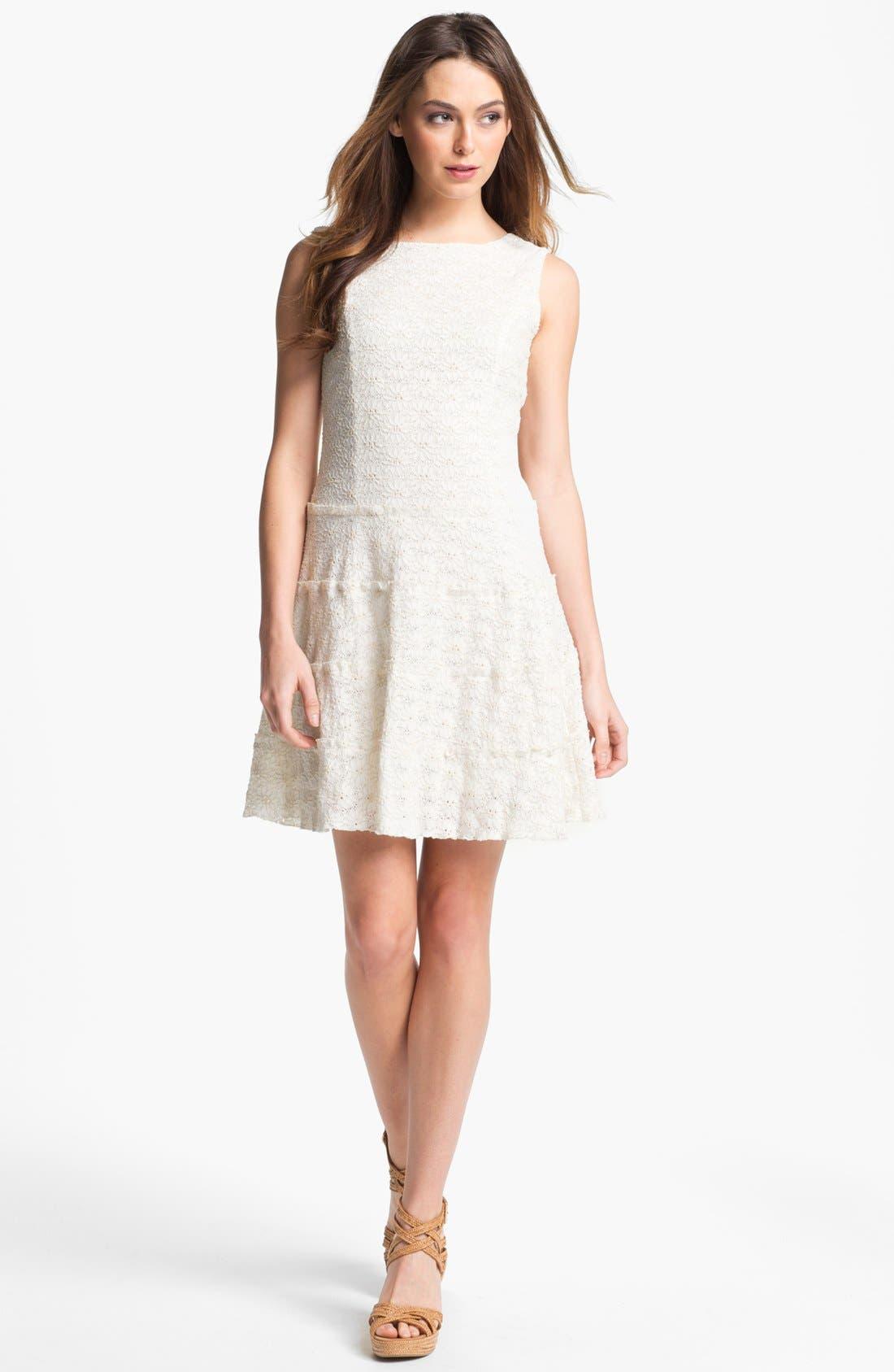 Alternate Image 1 Selected - LABEL by five twelve Lace Drop Waist Dress