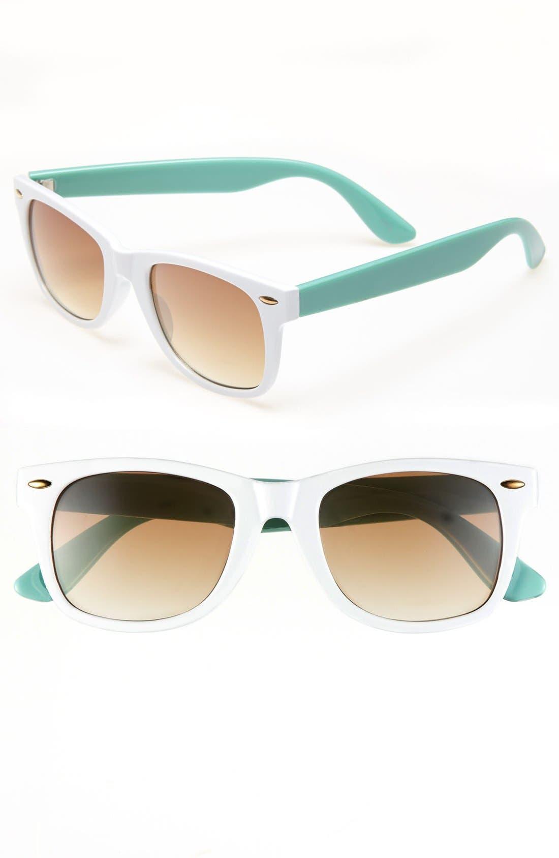 Alternate Image 1 Selected - Icon Eyewear 'Maureen' Retro Sunglasses (Juniors)
