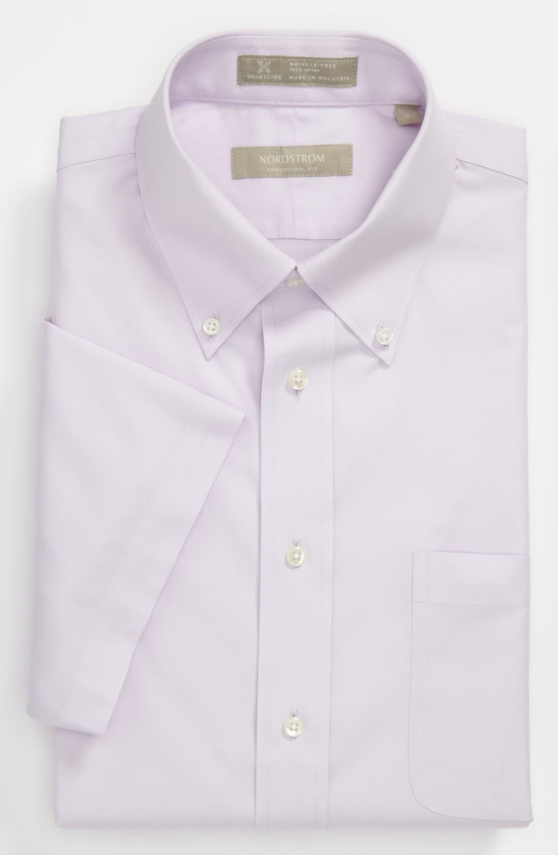 Alternate Image 1 Selected - Nordstrom Smartcare™ Traditional Fit Non-Iron Dress Shirt