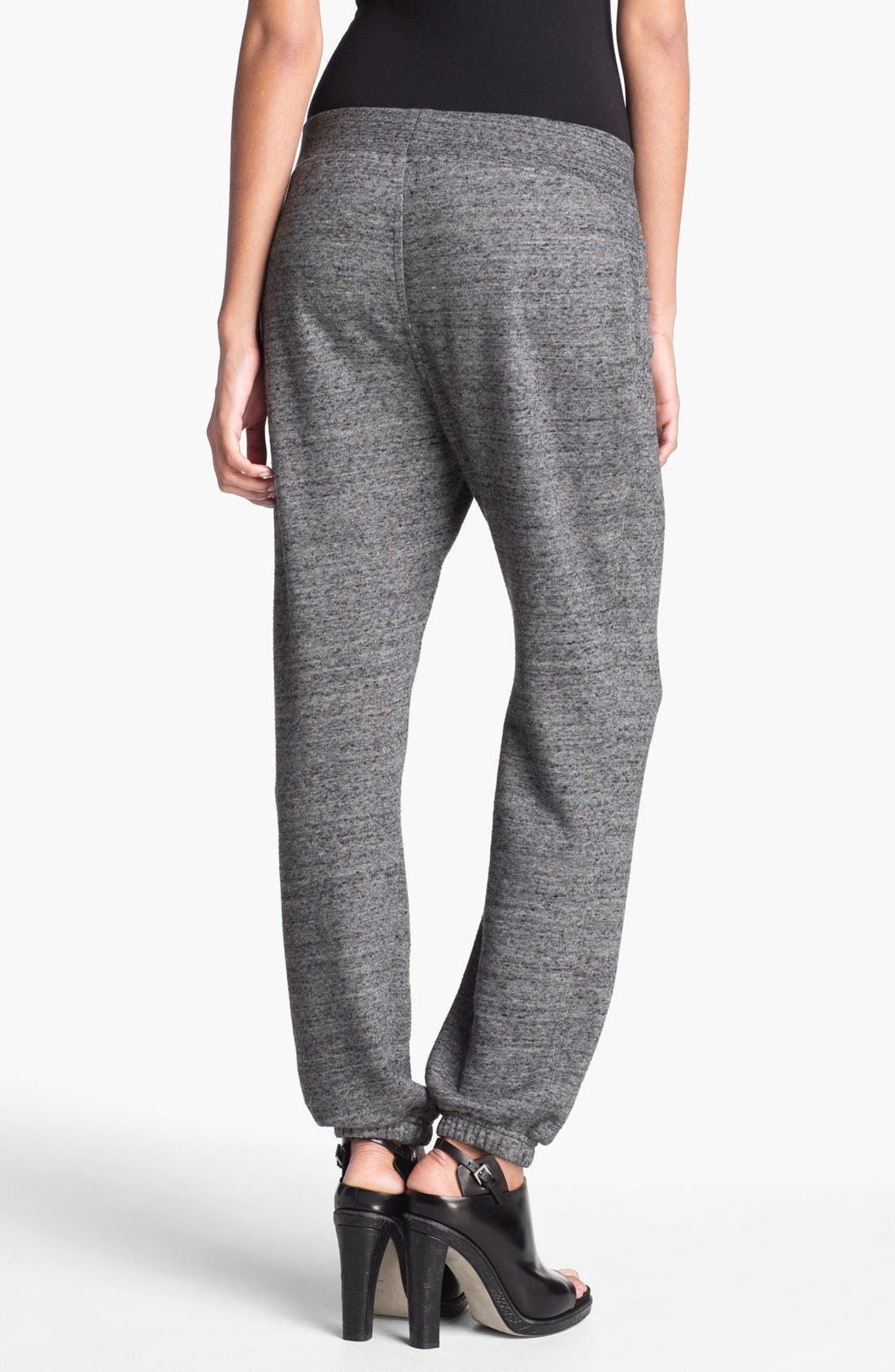 Alternate Image 2  - T by Alexander Wang French Terrry Sweatpants