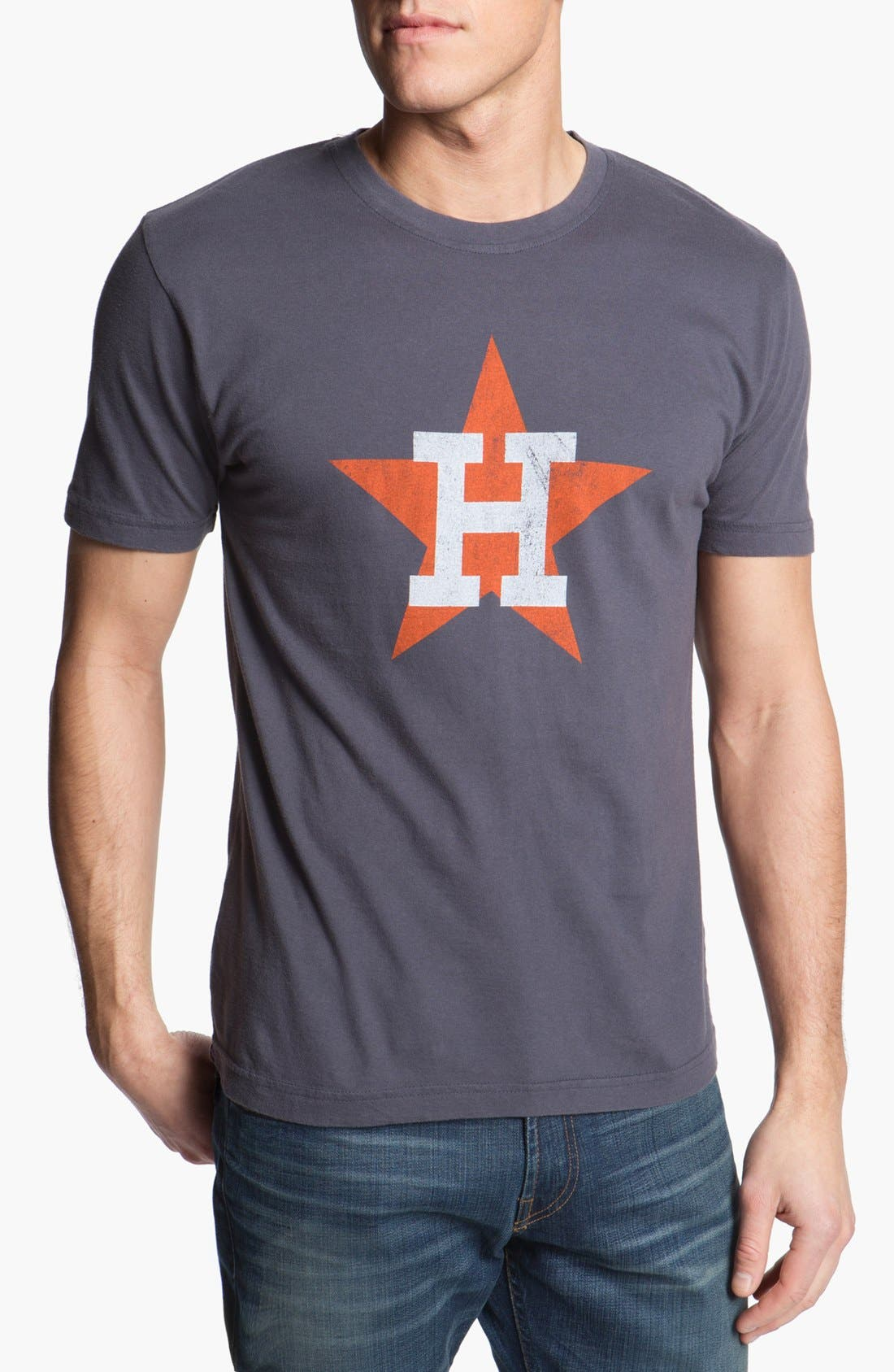 Alternate Image 1 Selected - Red Jacket 'Astros - Brass Tacks' T-Shirt