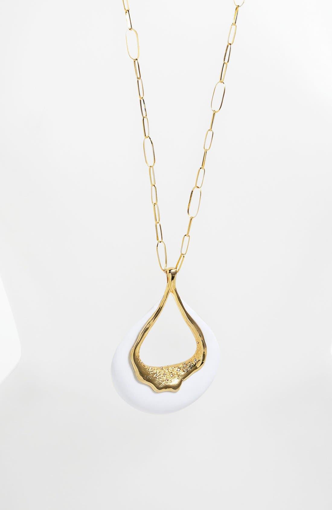 Main Image - Alexis Bittar 'Miss Havisham - Liquid Gold' Long Pendant Necklace