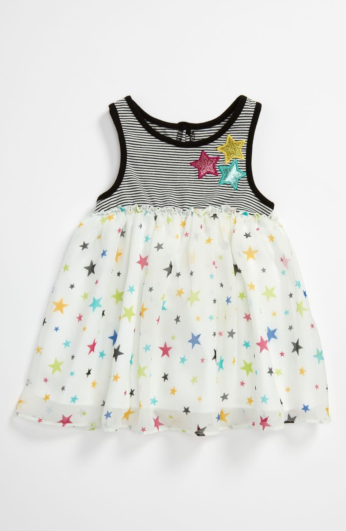 Alternate Image 1 Selected - Pippa & Julie 'Star' Dress (Toddler)