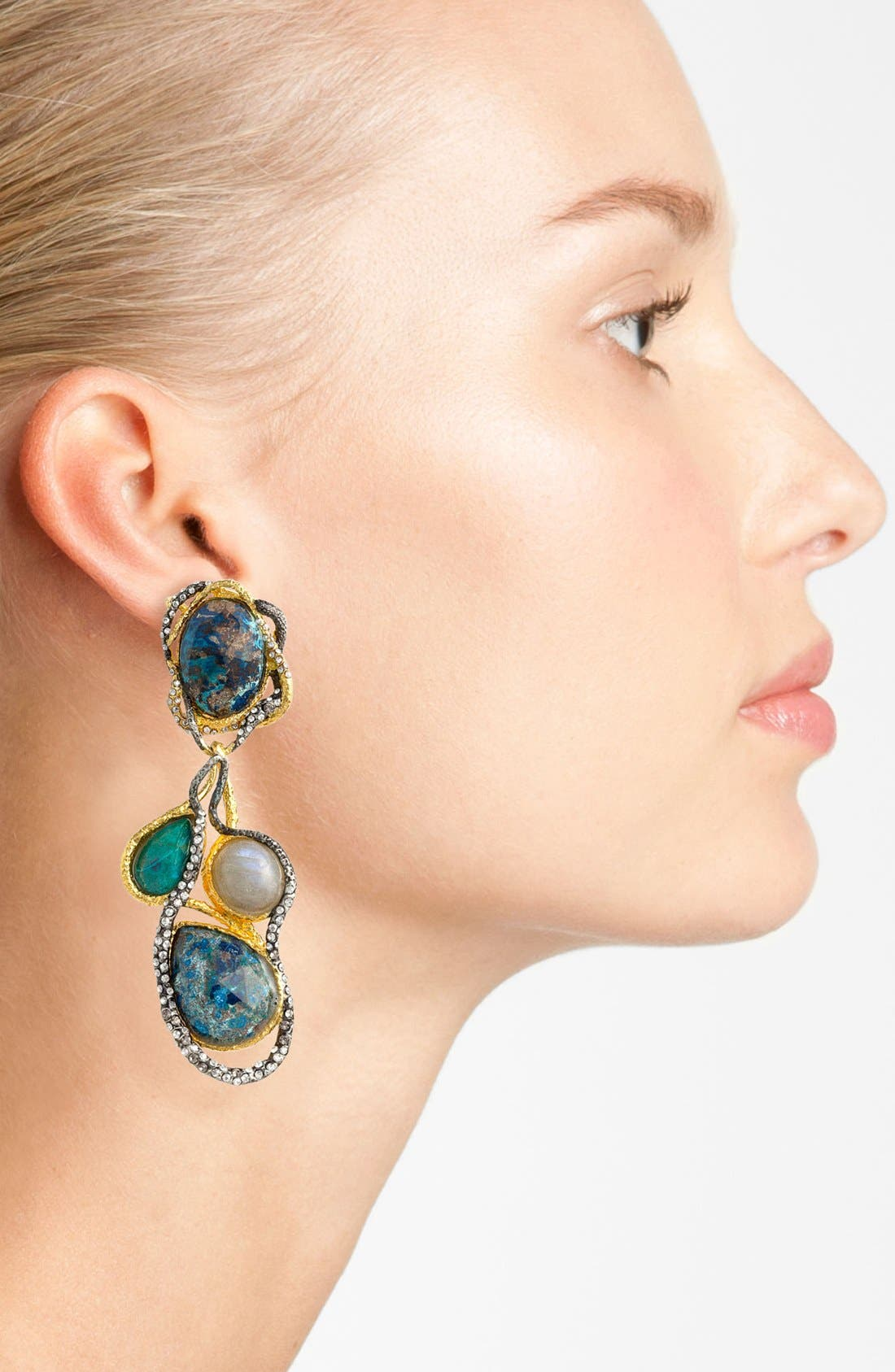 Alternate Image 2  - Alexis Bittar 'Elements - Cordova' Clip Drop Earrings