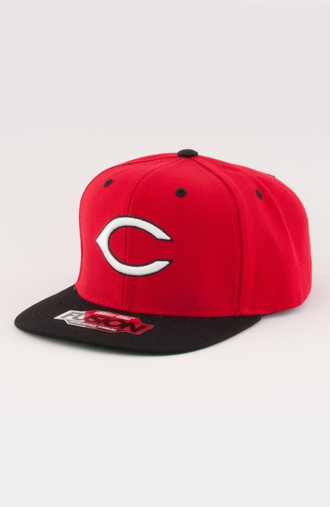 Alternate Image 1 Selected - American Needle 'Cincinnati Reds - Back 2 Front' Snapback Baseball Cap