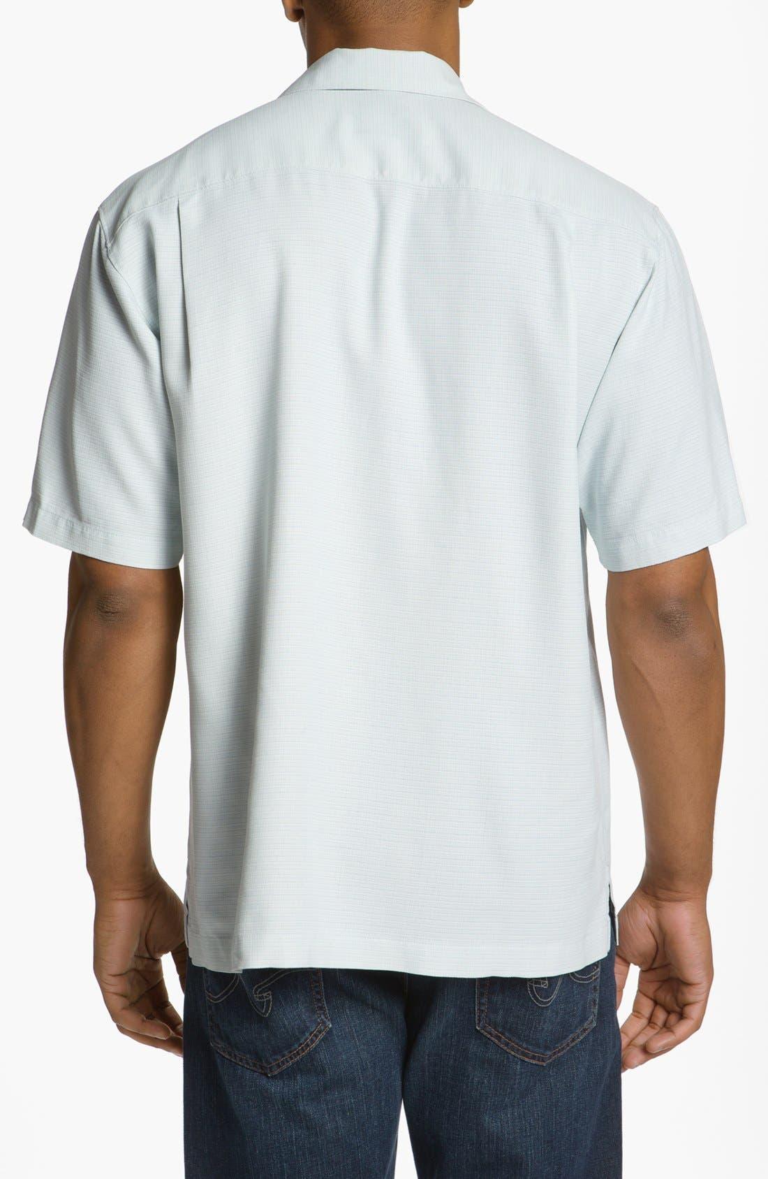 Alternate Image 2  - Tommy Bahama 'Amazon' Original Fit Silk Jacquard Camp Shirt