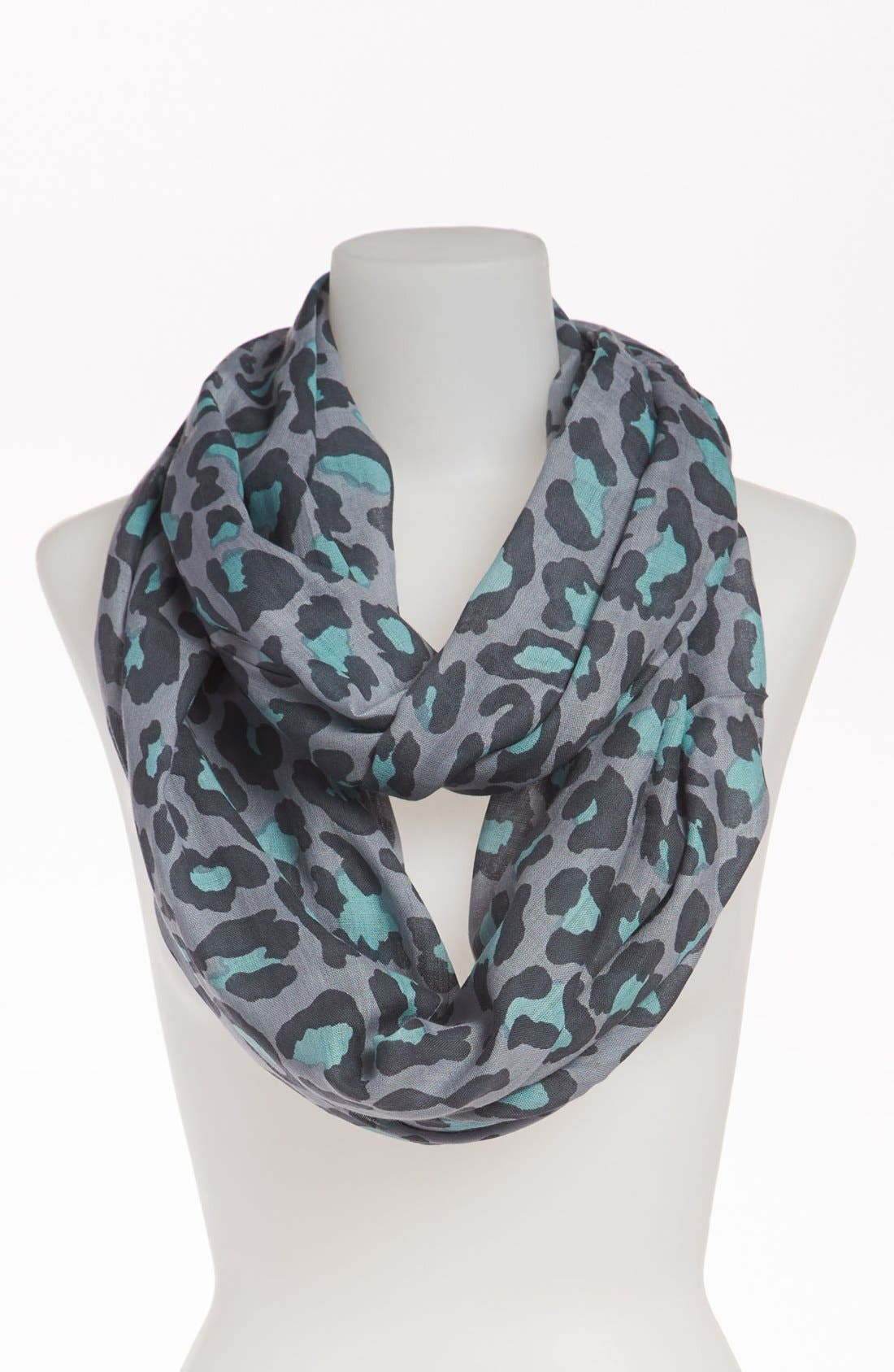 Alternate Image 1 Selected - BP. Leopard Print Infinity Scarf