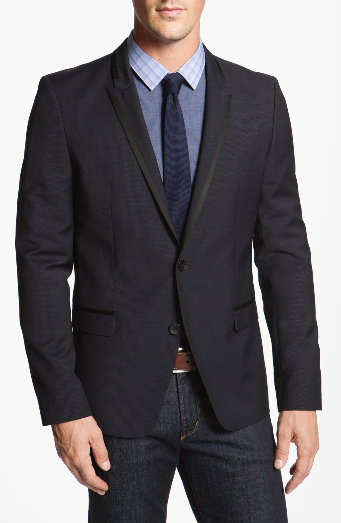 Alternate Image 1 Selected - HUGO 'Astad' Extra Trim Fit Sportcoat