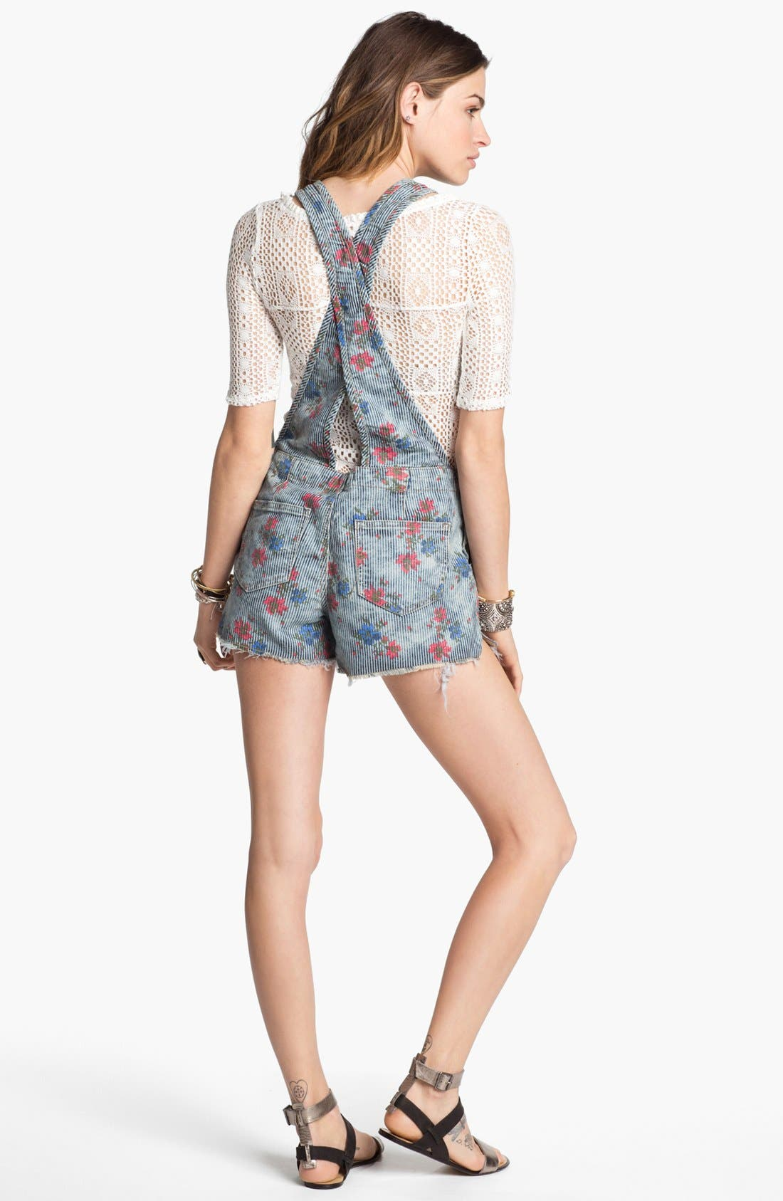 Alternate Image 2  - Free People 'Boyfriend' Shortalls