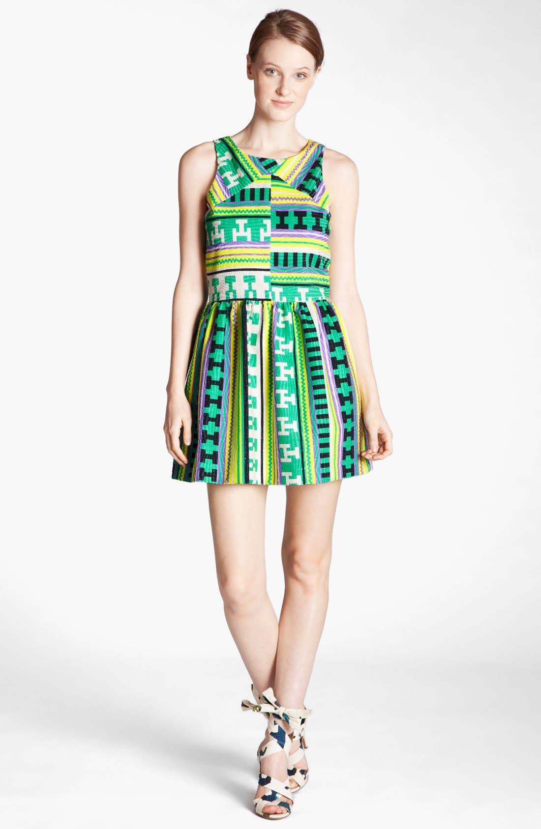 Alternate Image 1 Selected - MSGM Ikat Print Dress