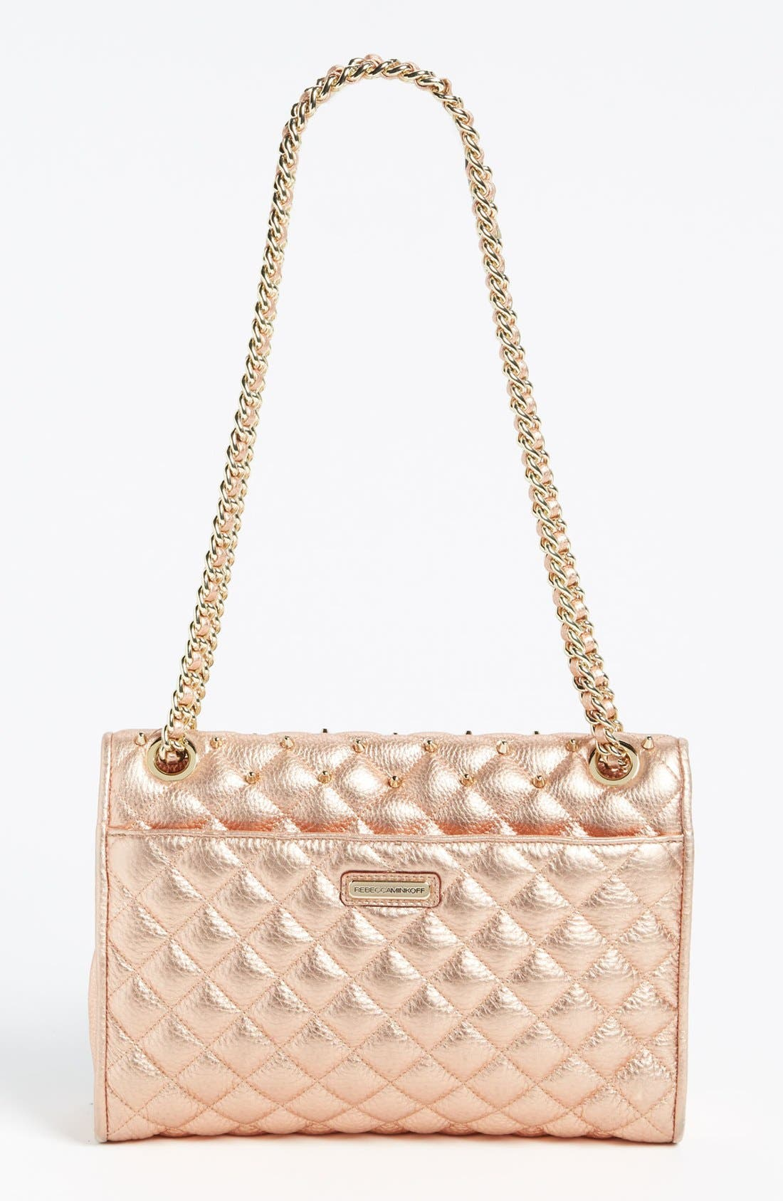 Alternate Image 4  - Rebecca Minkoff 'Quilted Affair with Studs' Shoulder Bag