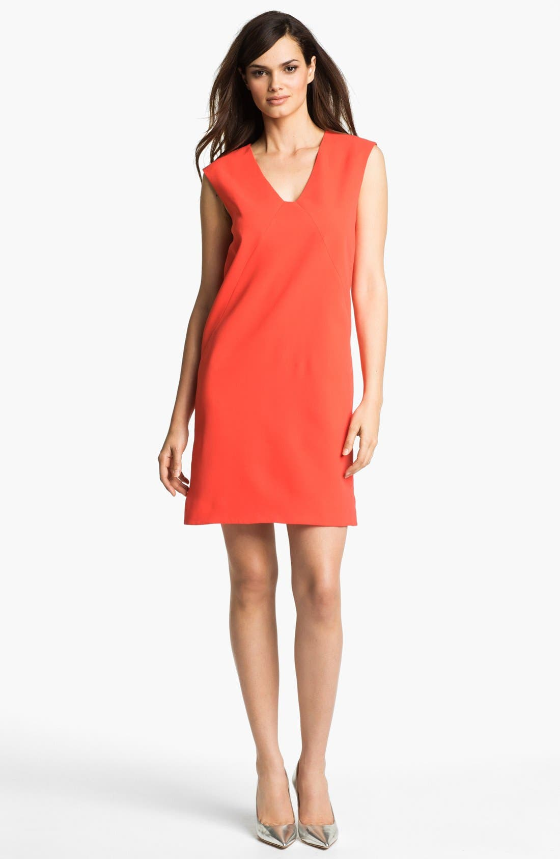 Alternate Image 1 Selected - 4.collective Seamed Shift Dress