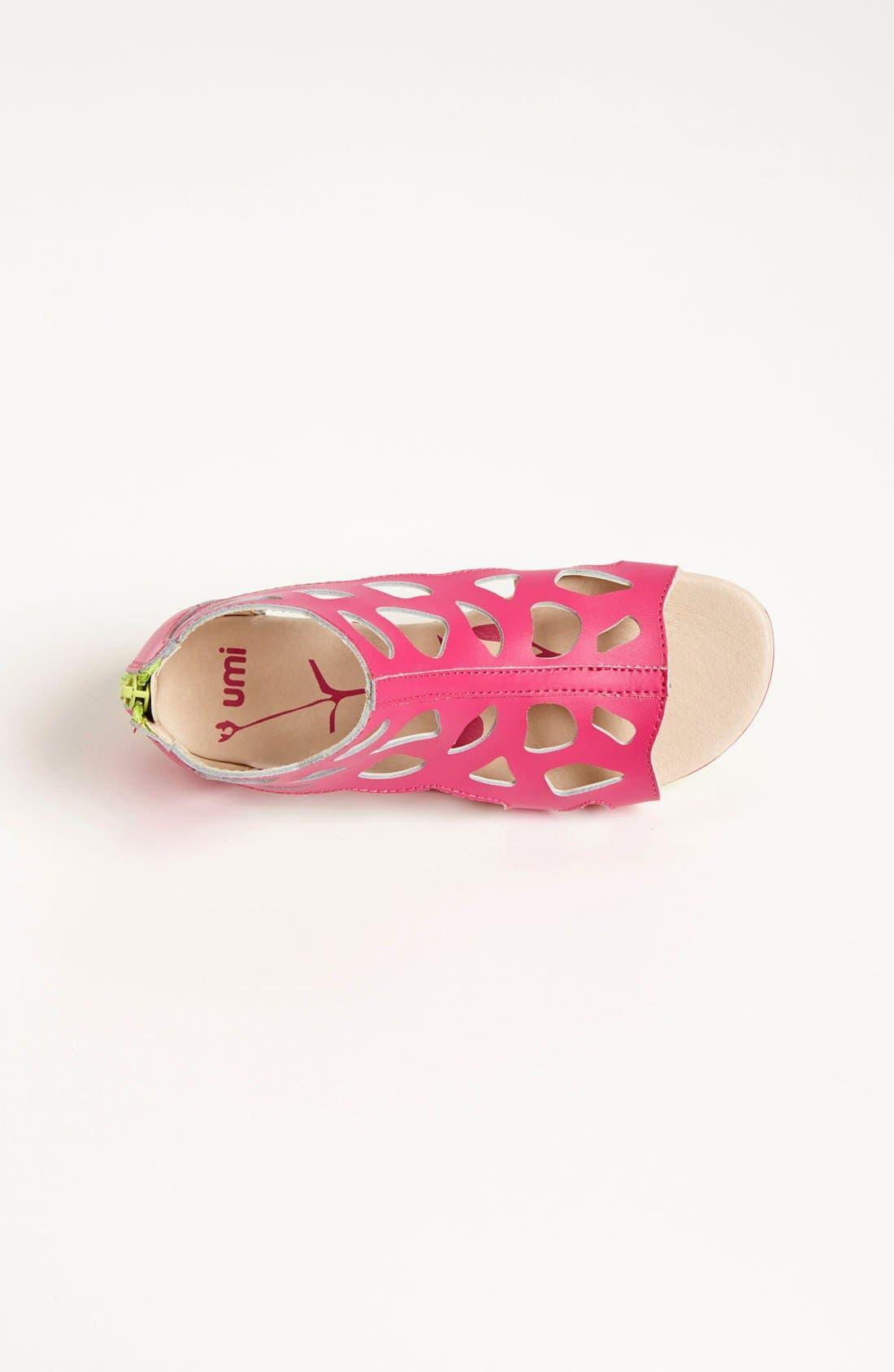 Alternate Image 3  - Umi 'Roxanna' Gladiator Sandal (Toddler, Little Kid & Big Kid)