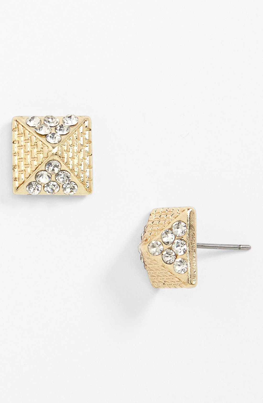 Main Image - Stephan & Co. Pyramid Stud Earrings