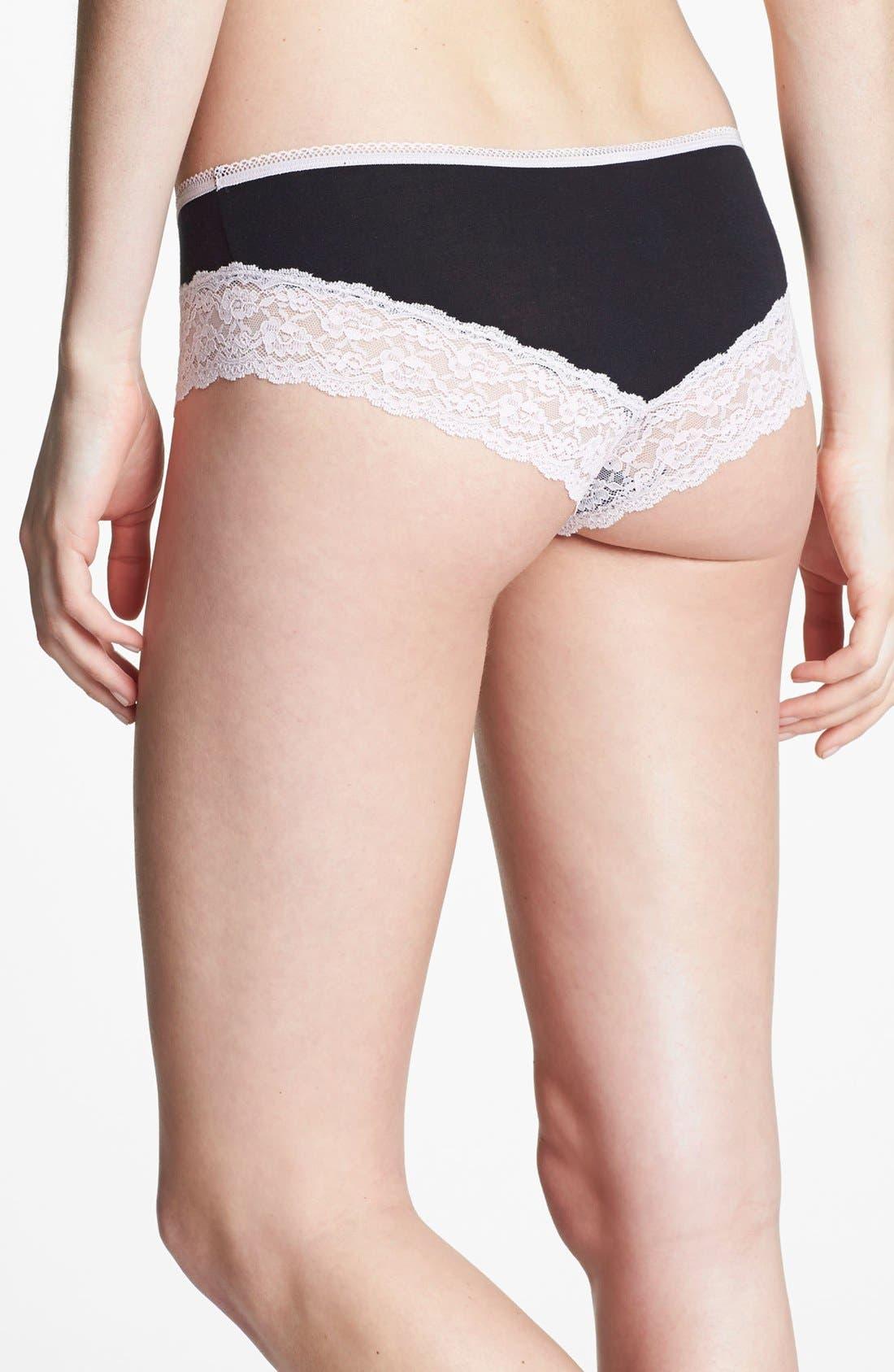 Alternate Image 2  - b.tempt'd by Wacoal 'Super Natural' Bikini (3 for $30)