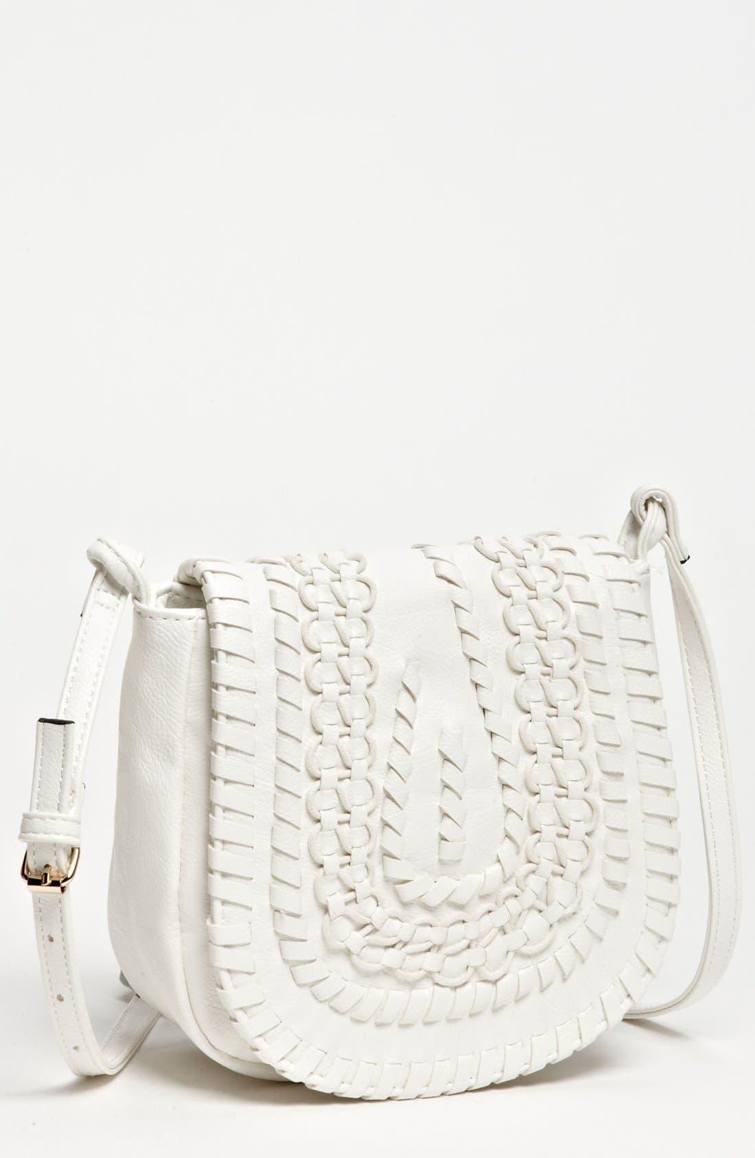 Main Image - Big Buddha 'Baker' Faux Leather Crossbody Bag, Small
