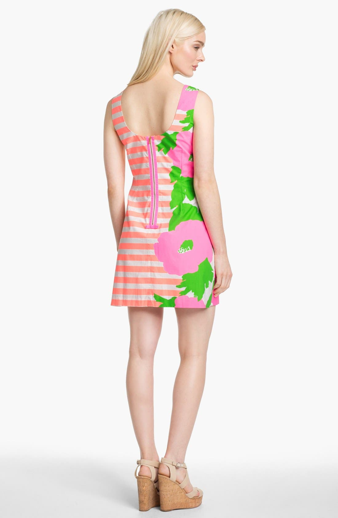 Alternate Image 2  - Lilly Pulitzer® 'Delia' Multi Print Shift Dress