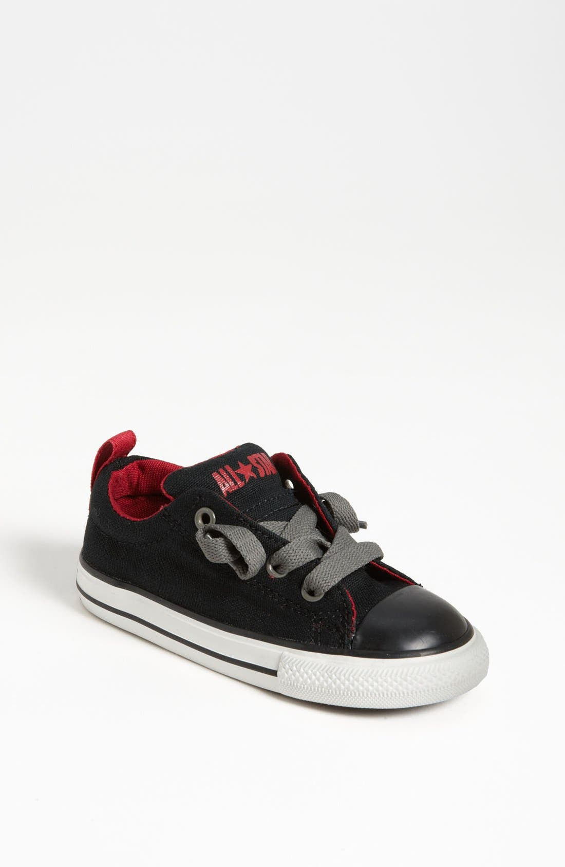 Alternate Image 1 Selected - Converse 'Street Ox' Slip-On Sneaker (Baby, Walker & Toddler)