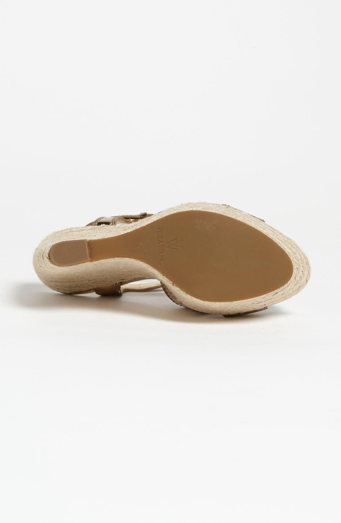 Alternate Image 4  - Vera Wang Footwear 'Tamarind' Wedge Sandal (Online Only)