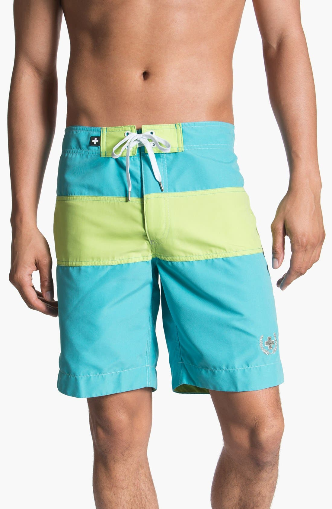 Main Image - Andrew Christian 'Surf Comber' Board Shorts
