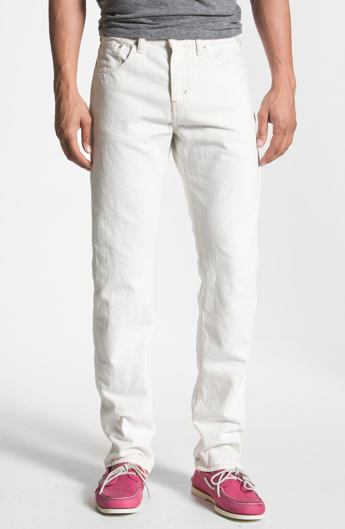 Alternate Image 2  - Levi's® '513™' Slim Fit Jeans (Bright White)