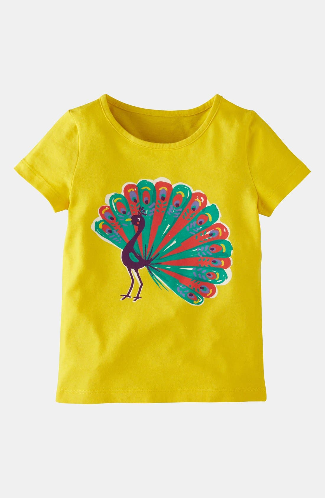 Alternate Image 1 Selected - Mini Boden 'Colorful Carnival' Tee (Toddler)