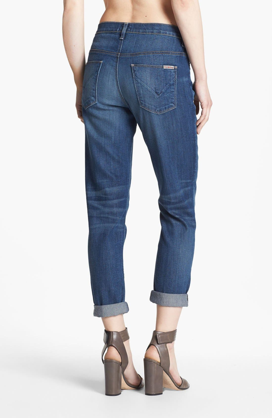 Alternate Image 2  - Hudson Jeans 'Leigh' Boyfriend Jeans (Youth Vintage)