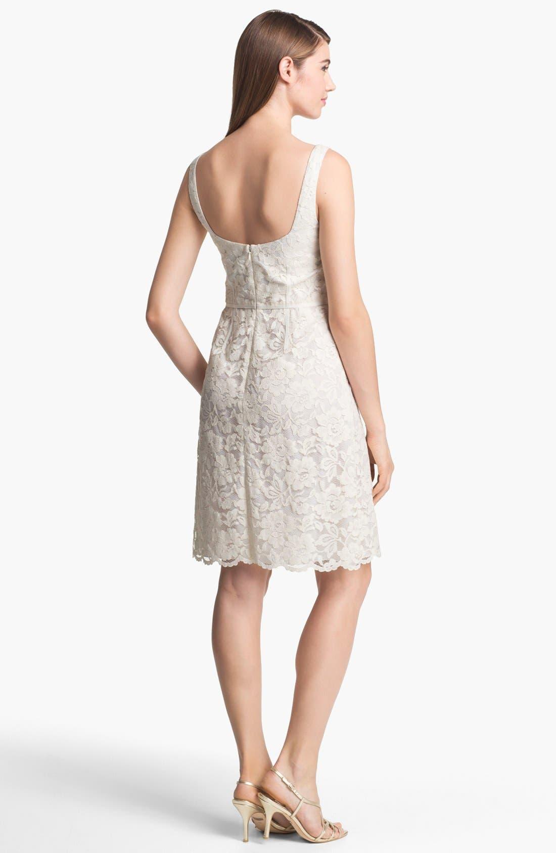 Alternate Image 2  - Jill Jill Stuart Sleeveless Lace Dress